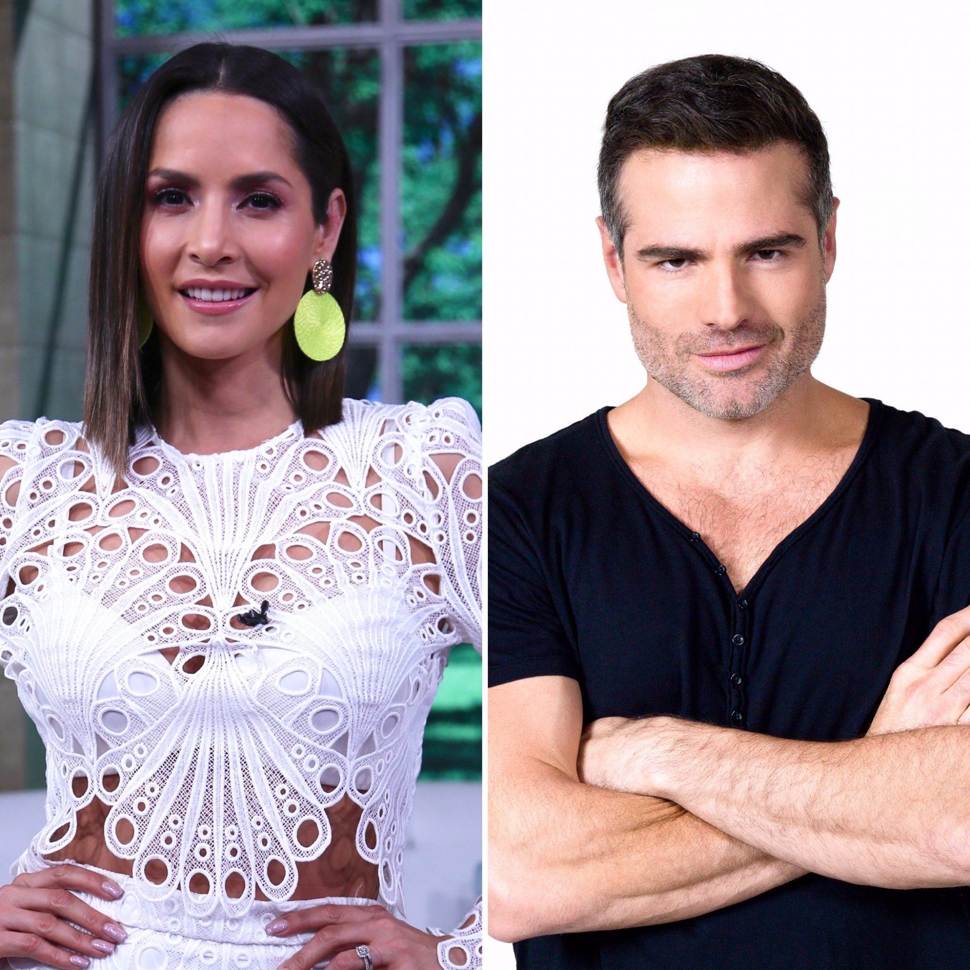 Carmen Villalobos y Roberto Manrique