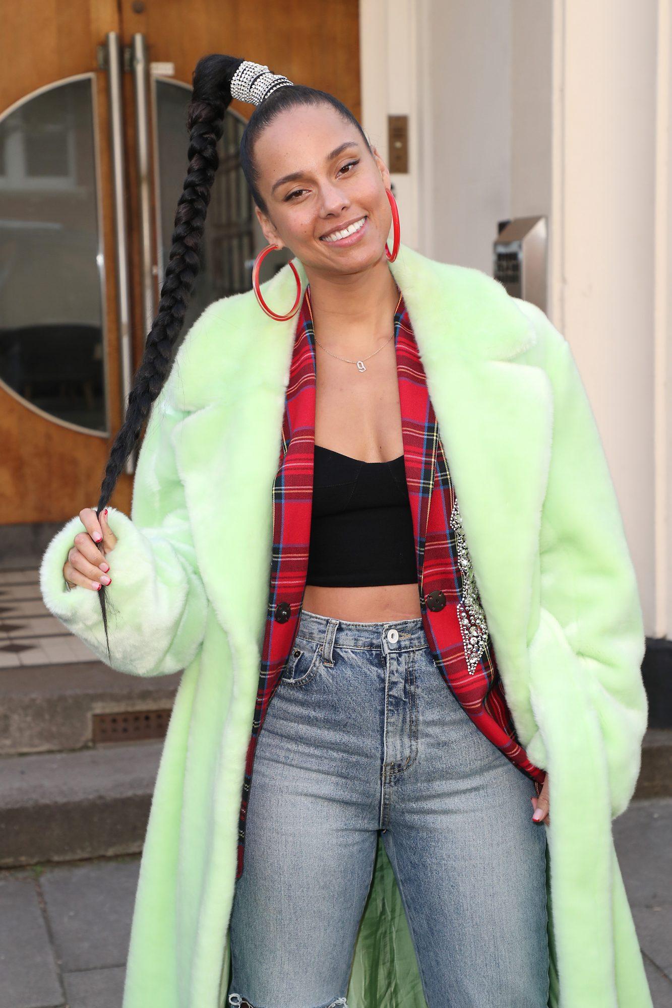 Alicia Keys se prepara para lanzar su propia línea de belleza