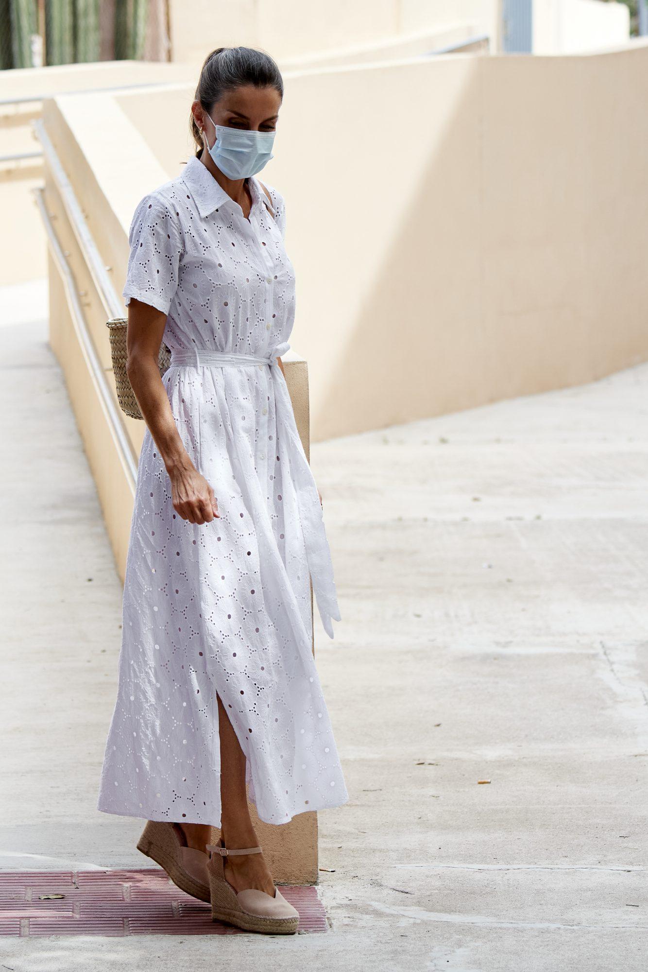 La reina letizia, look, verano 2020
