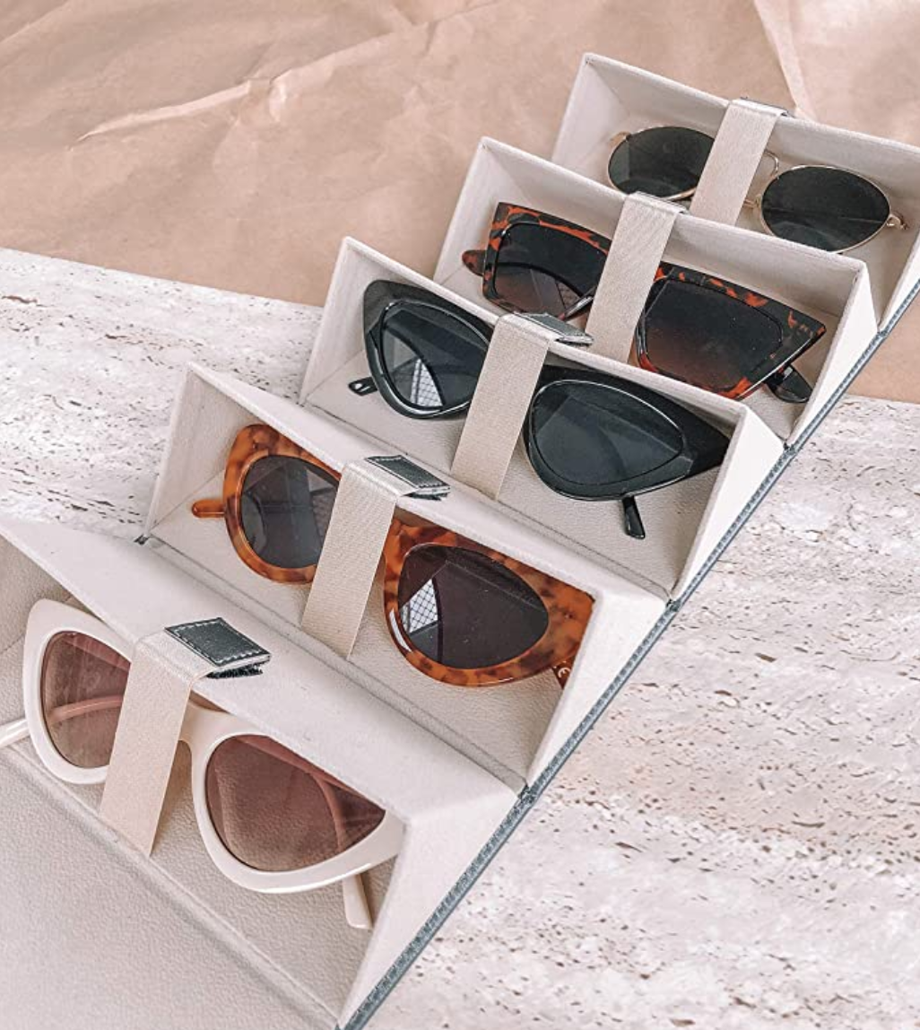 organizador para lentes de sol, orgainzador