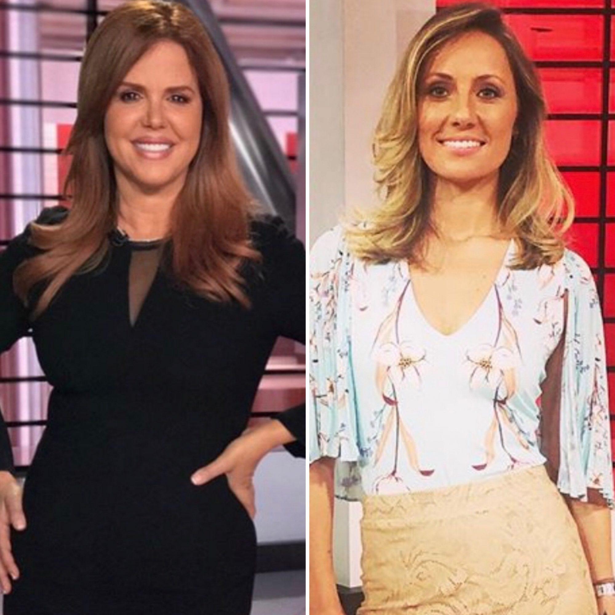 María Celeste Arrarás y Rebeka Smyth