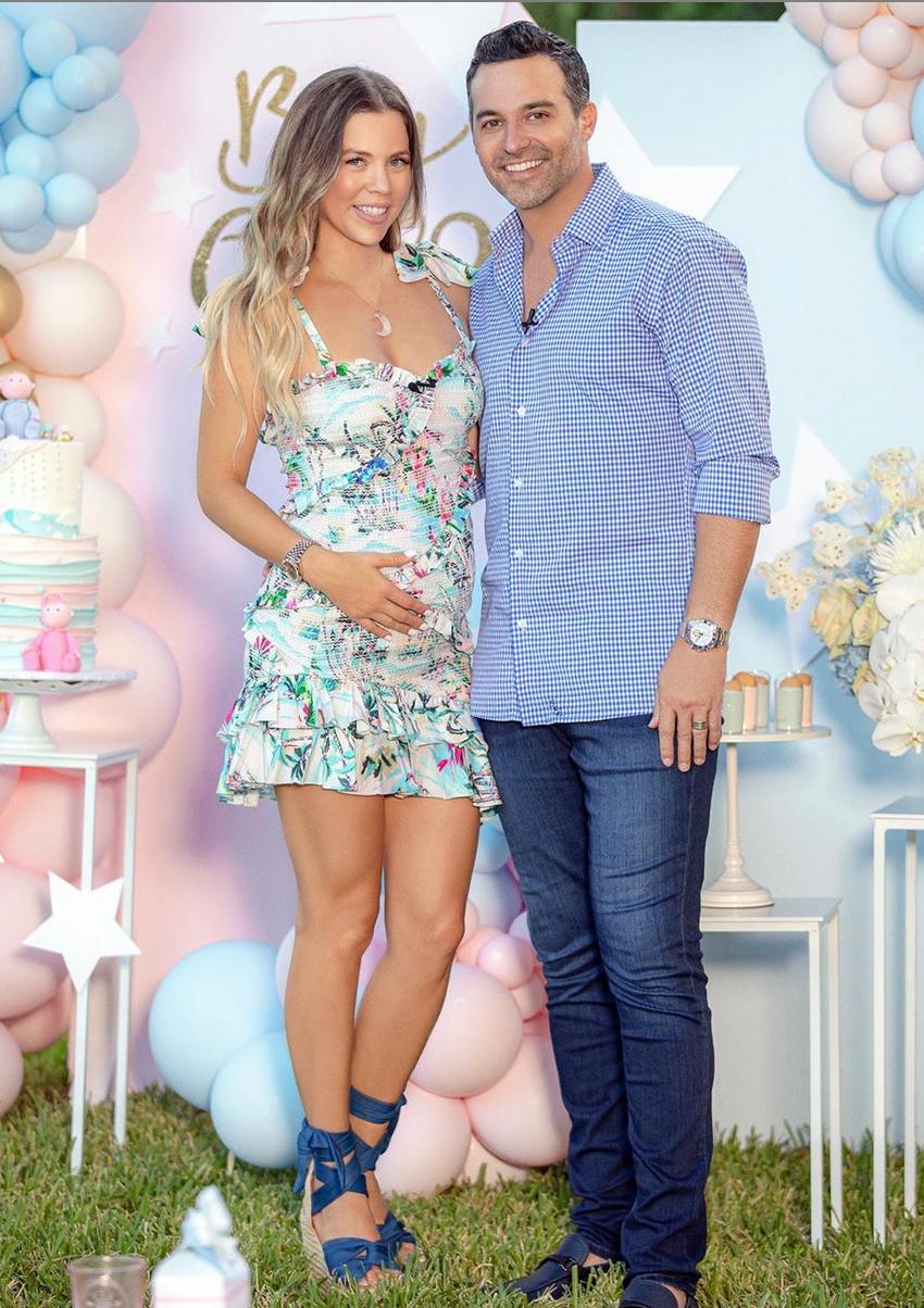 Ximena Duque, gender reveal, look, embarazo, bebe