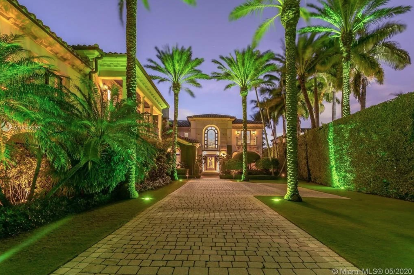 Casa de Jennifer Lopez y Alex Rodriguez