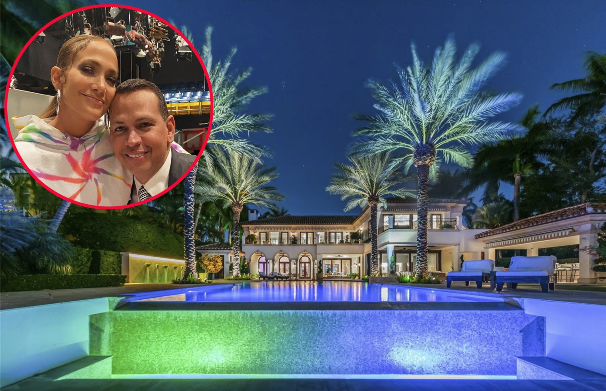 Jennifer Lopez and Alex Rodirguez' $40 Million Mansion