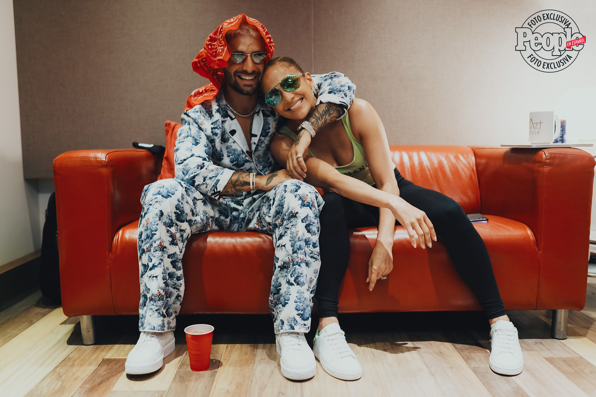 Maluma and Jennifer Lopez (DO NOT REUSE)