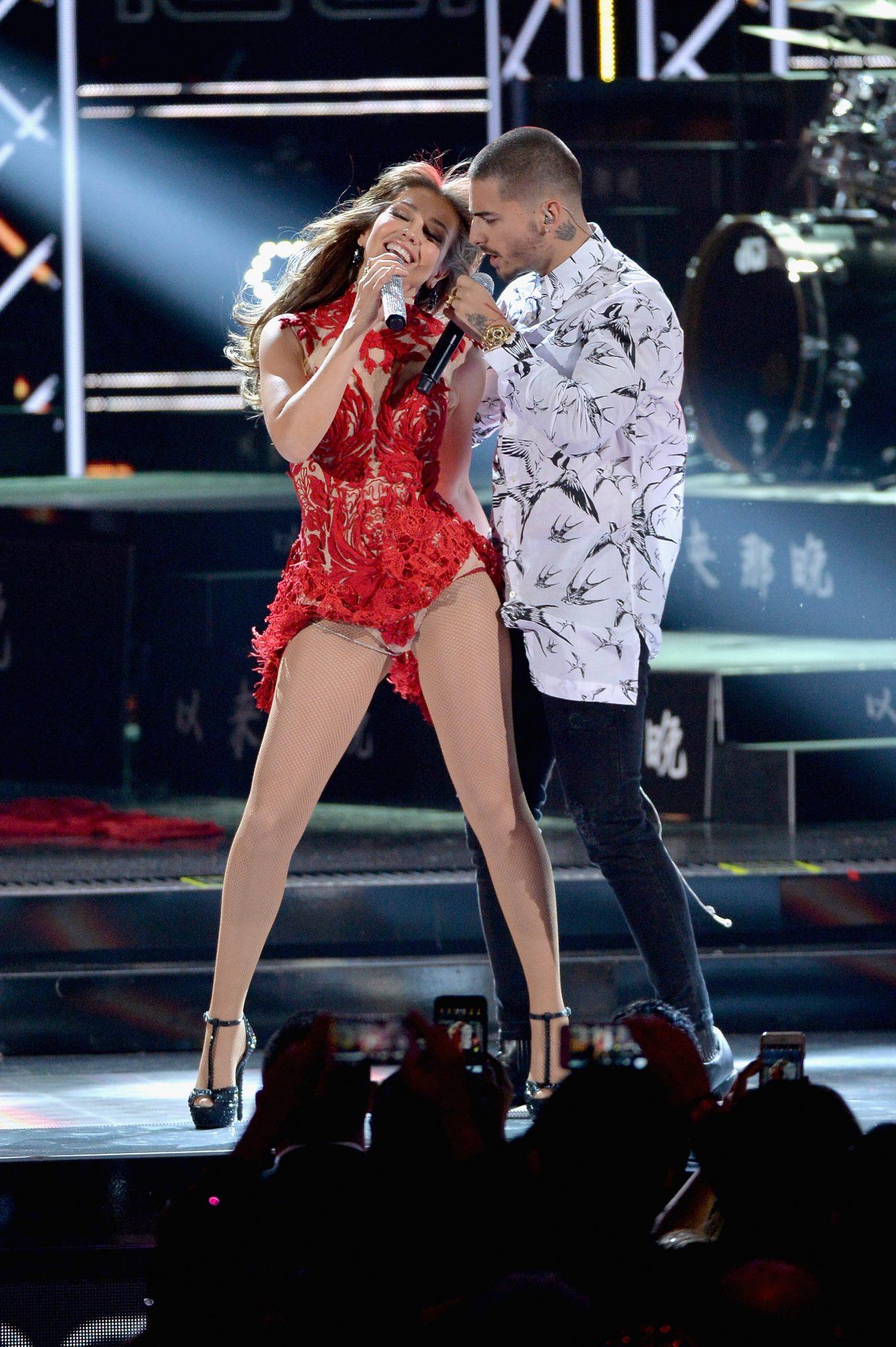 Maluma y Thalia