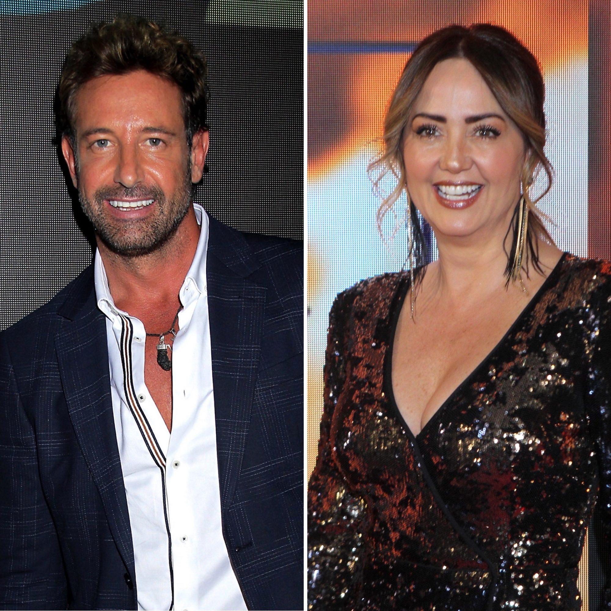 Andrea Legarreta y Gabriel Soto