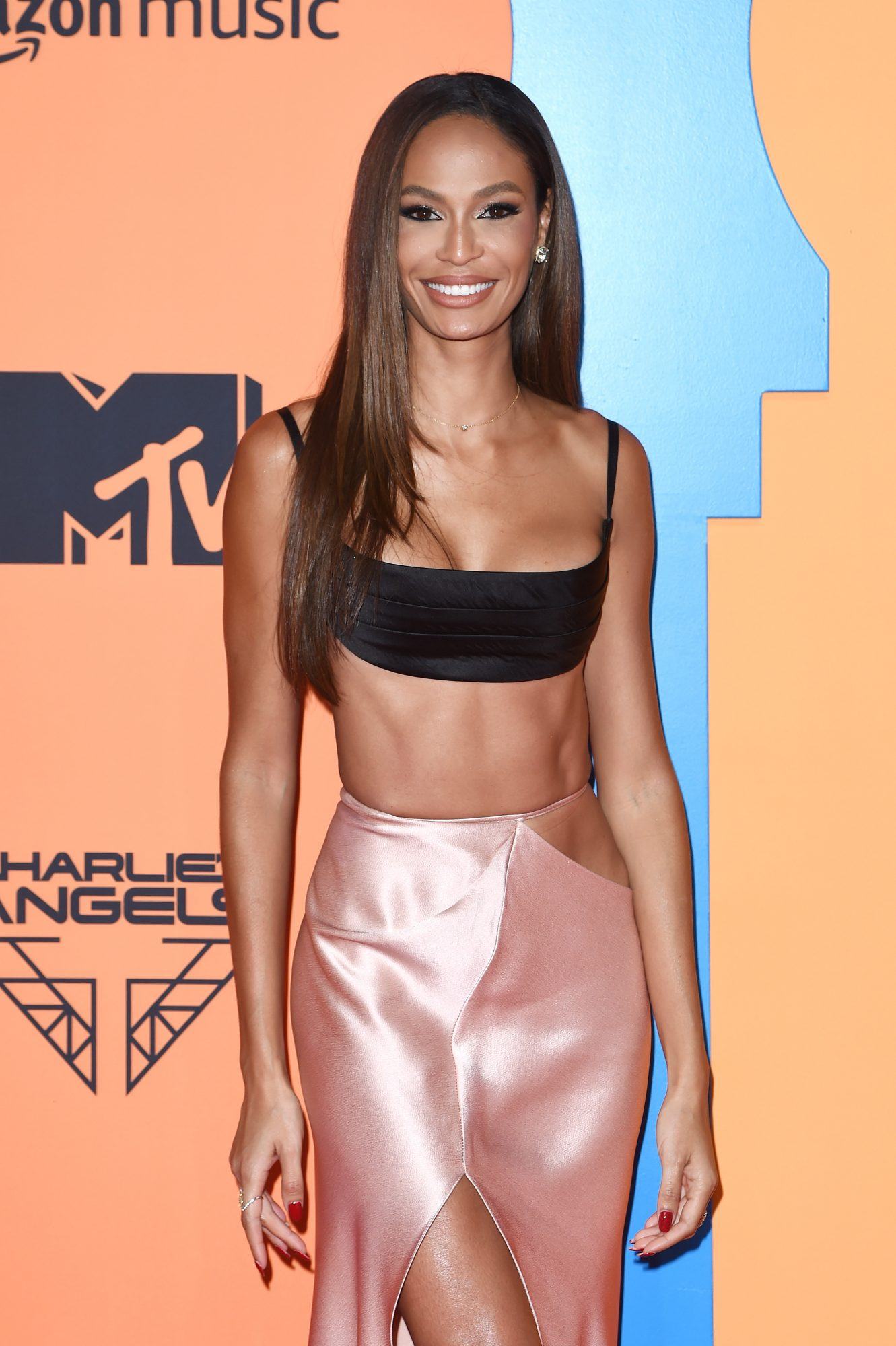 Joan Smalls at the MTV Awards in Spain