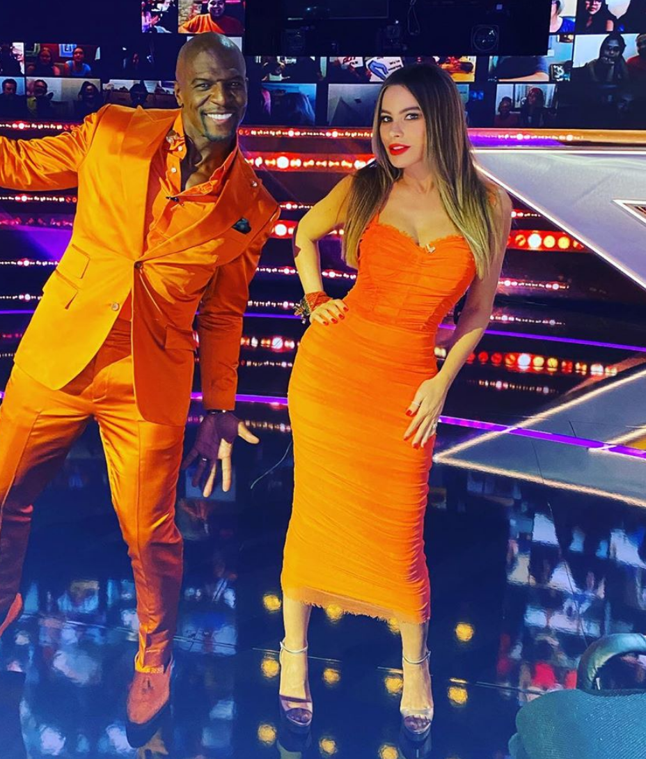 Sofia Vergara, look, americas got talent