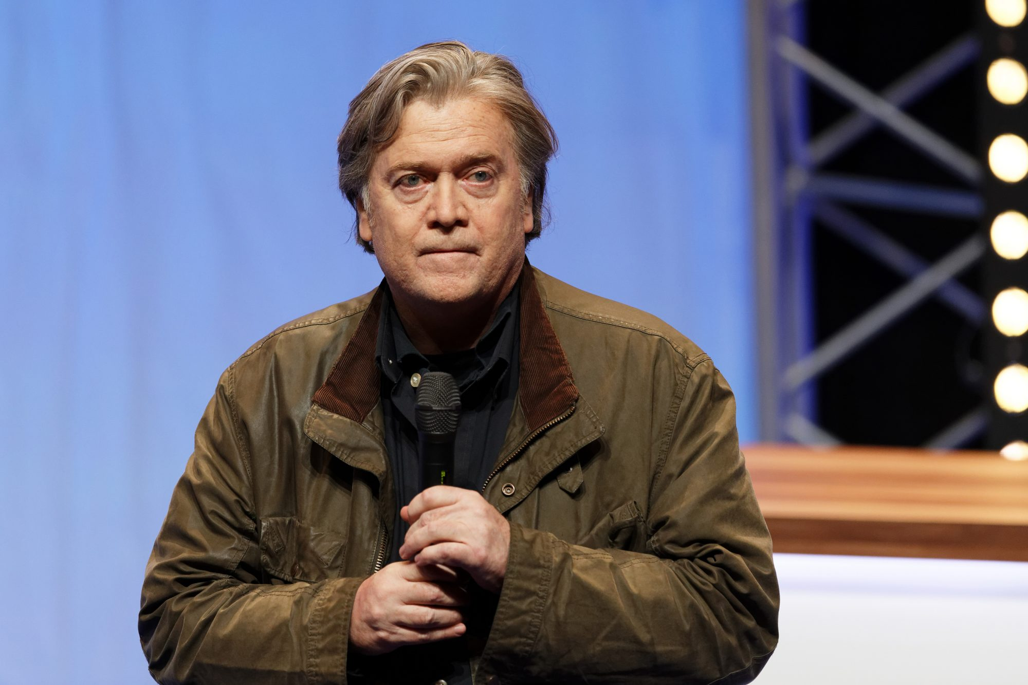 Steve Bannon, Former White House Strategist, Arrested and Charged With Fraud