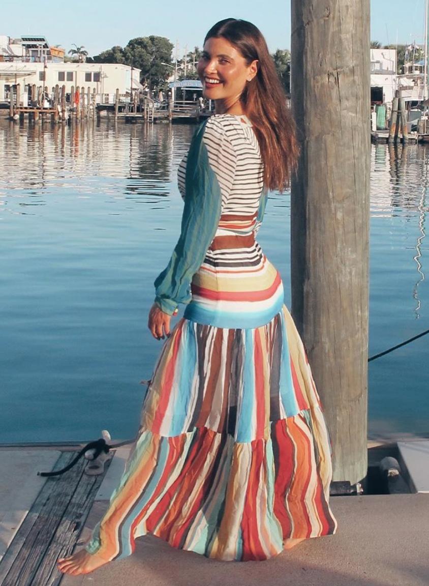Chiquinquira Delgado, look, playa, vacaciones
