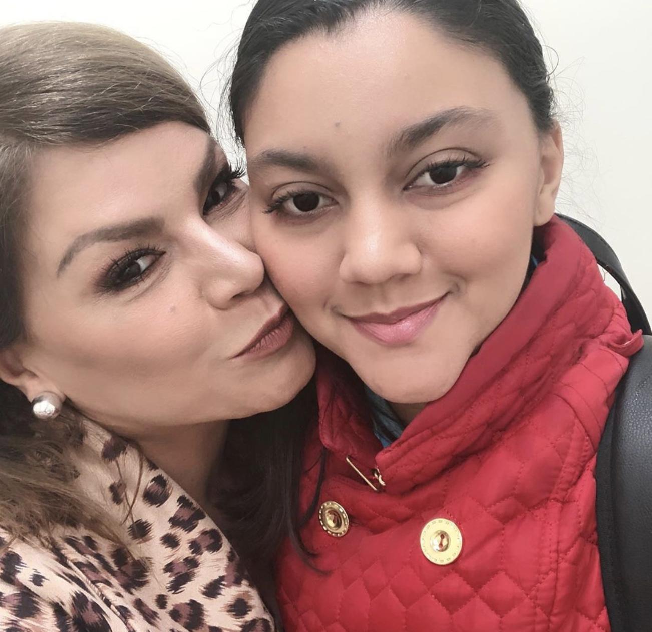 Olga Tañón y su hija Gabriella