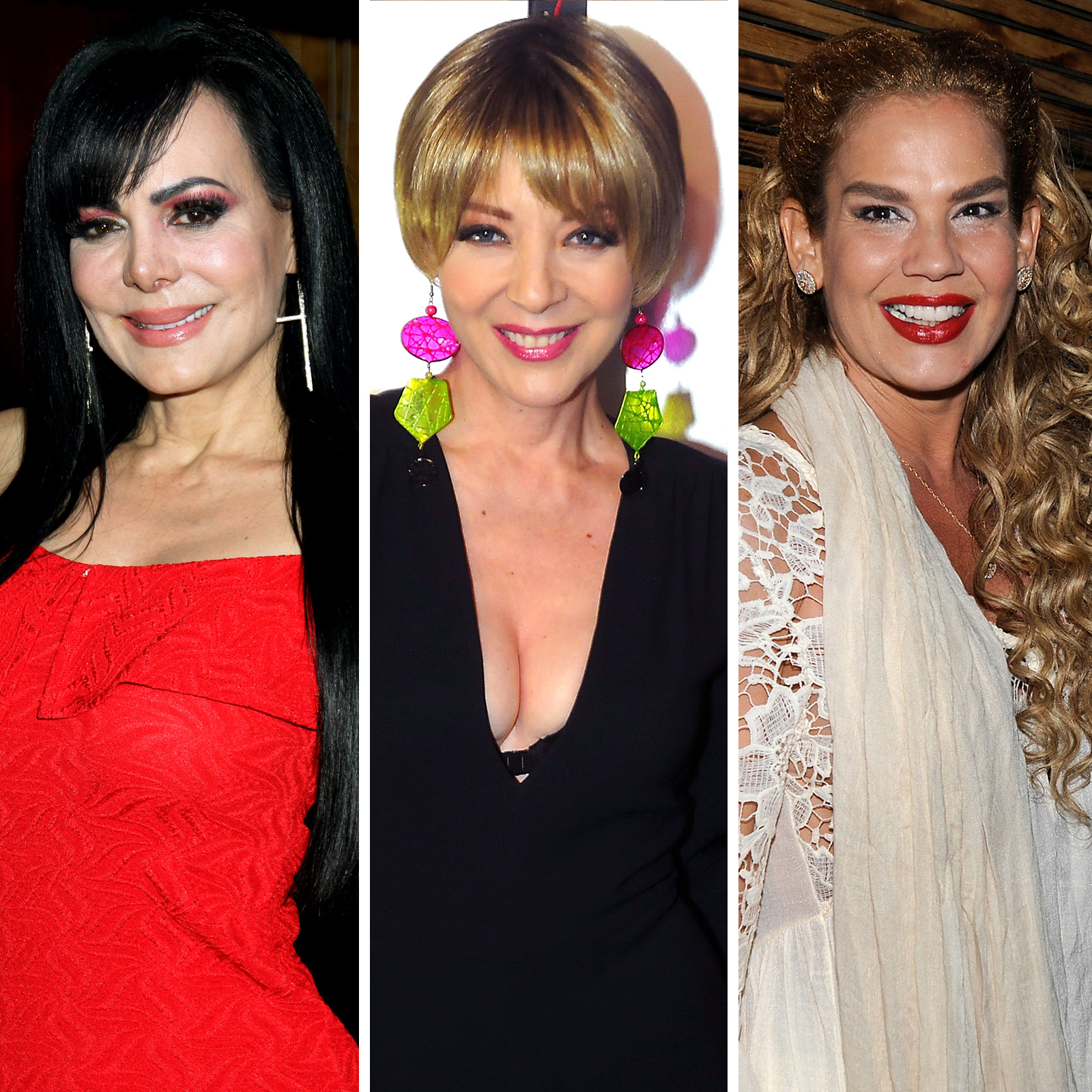 Maribel Guardia, Edith Gonzalez, Niurka Marcos