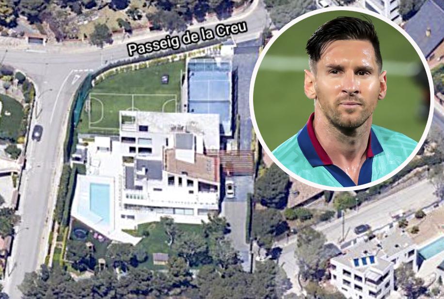 Lionel Messi - casa
