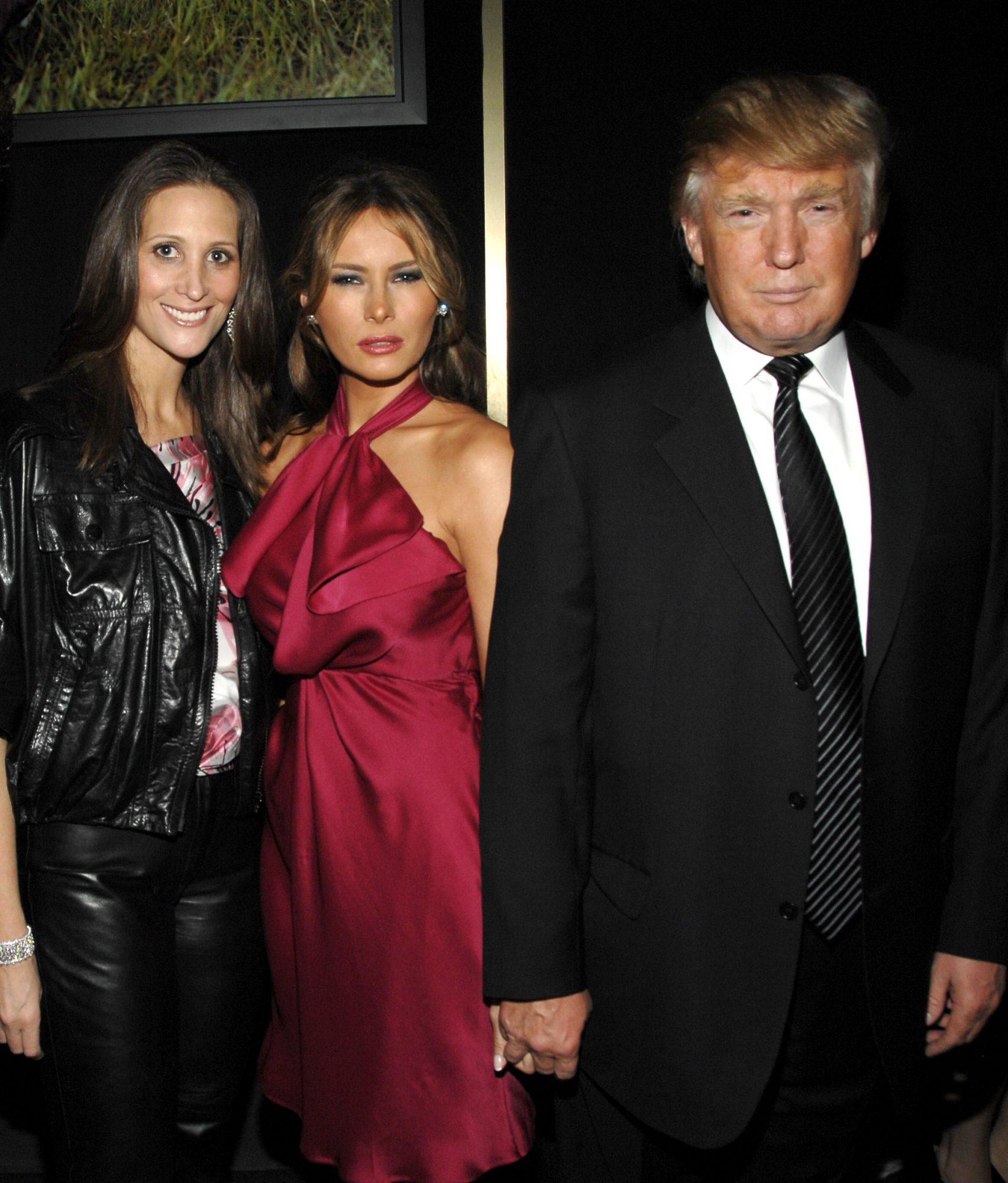 Stephanie Winston Wolkoff y Melania Trump