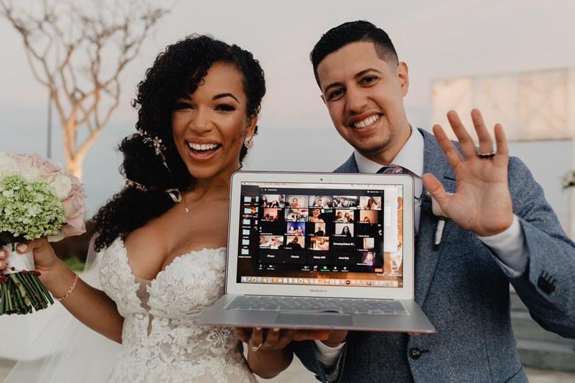 MJ Acosta boda le blanc spa los cabos esposo david ruiz