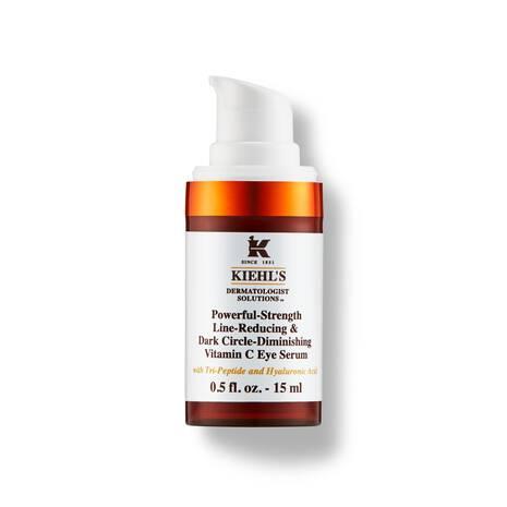 Este suero para los ojos promete reducir tus ojeras en tan solo ¡siete días! Para ello cuenta con una potente fórmula con un 10% de vitamina C pura y ácido hialurónico diseñada para trabajar en la delicada zona de los ojos y eliminar líneas de expresión, bolsas, patas de gallo. Nada transmite más luminosidad que una mirada radiante.Suero Powerful-Strength Dark Circle Reducing Vitamin C Eye Serum, de Kiehl's. $50. Kiehl's.com