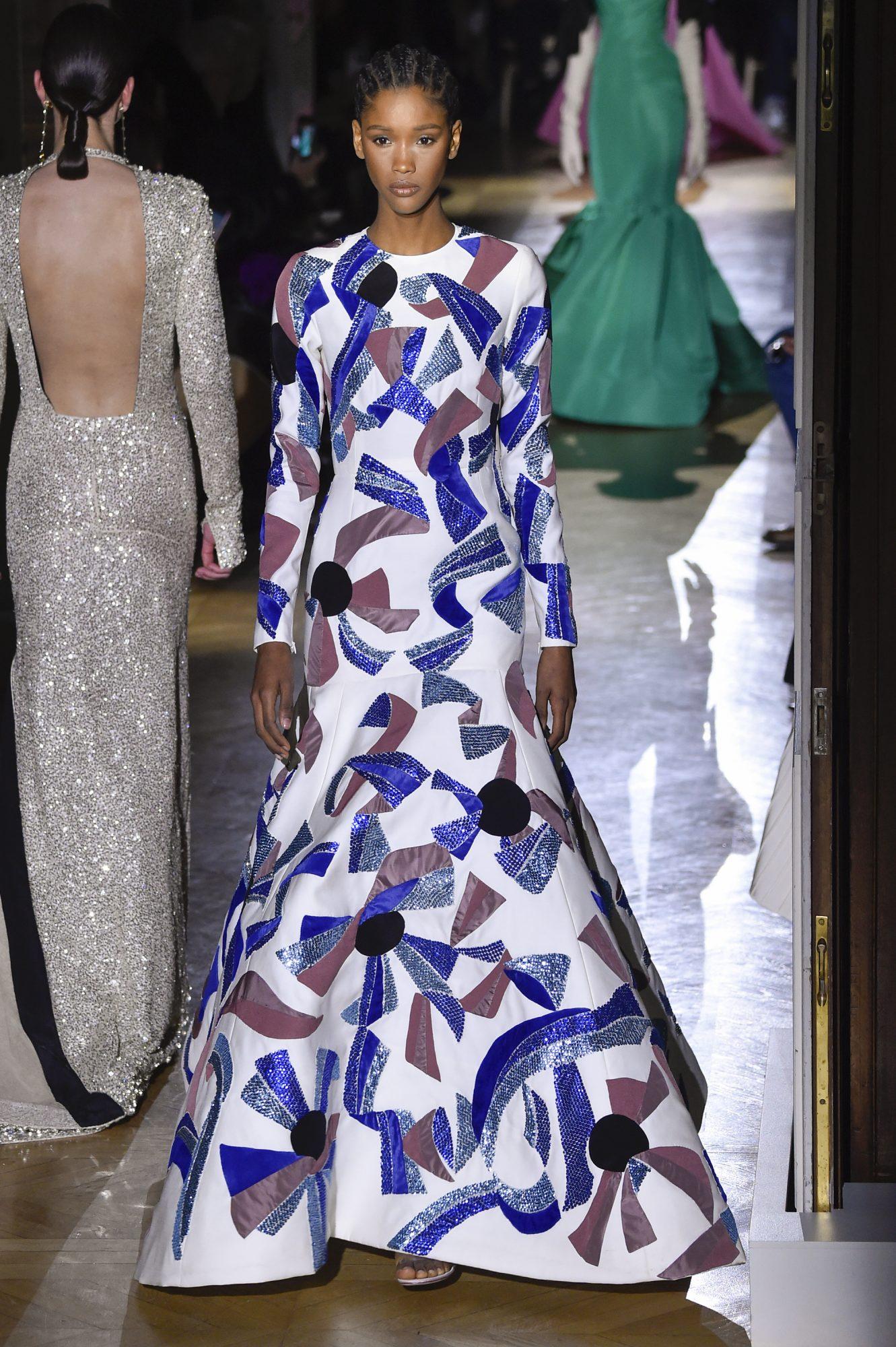 La modelo dominicana Lissandra Blanco está causando furor en las pasarelas