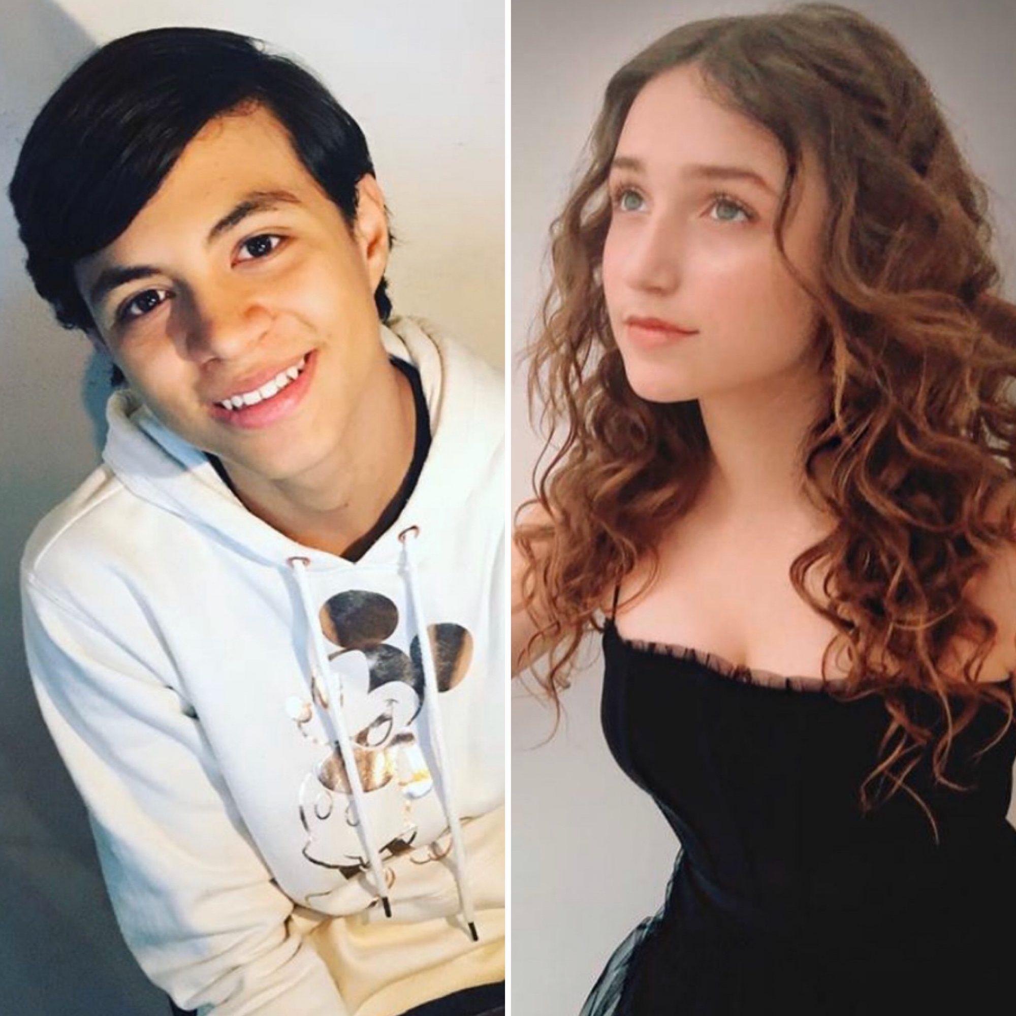 Alessio Valentini y Nina Rubín