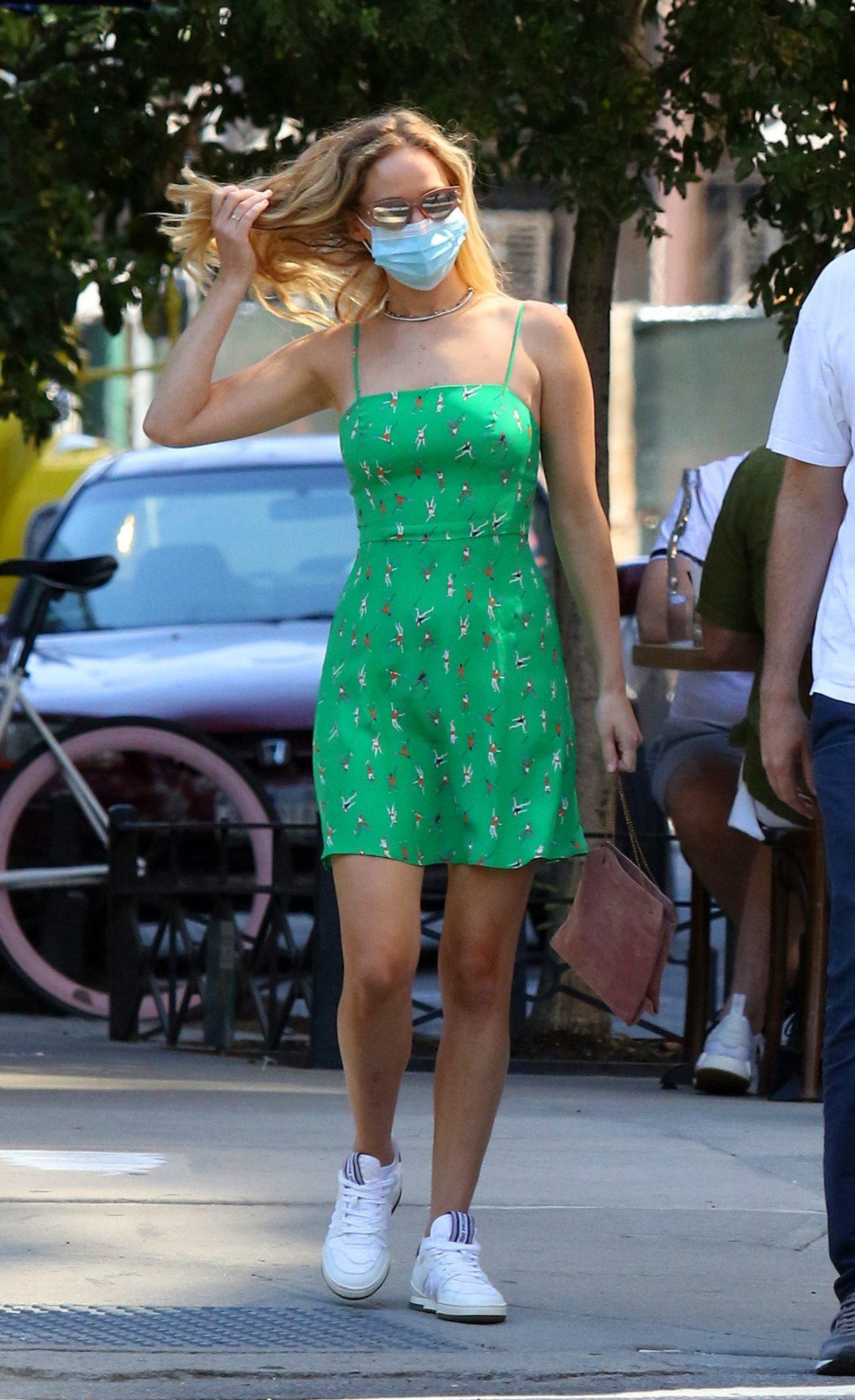Jennifer Lawrence, look, los angeles