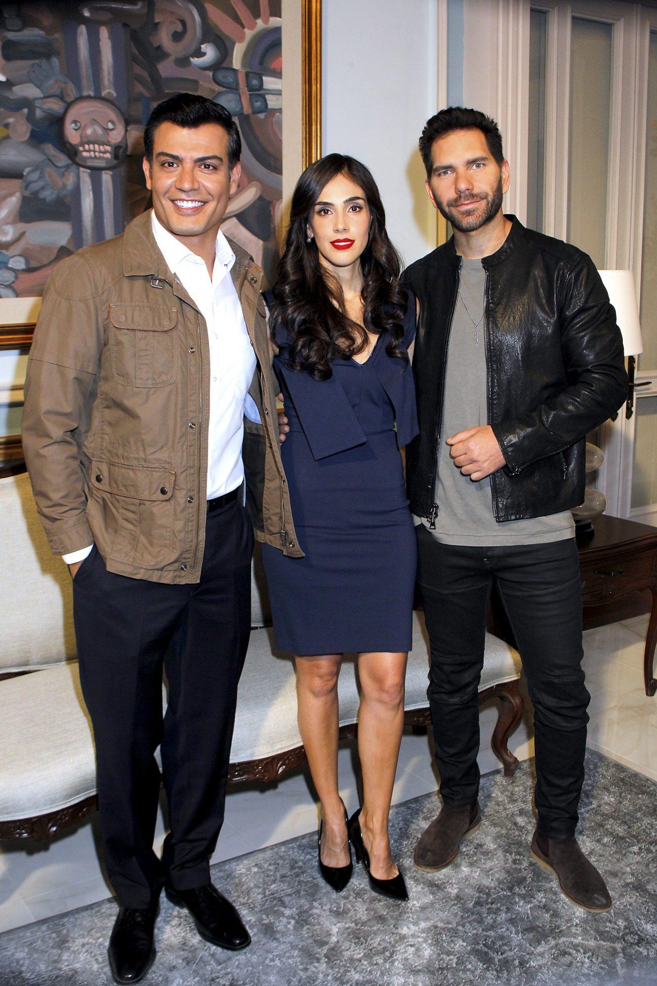 Andrés Palacios, Sandra Echeverría y Arap Bethke