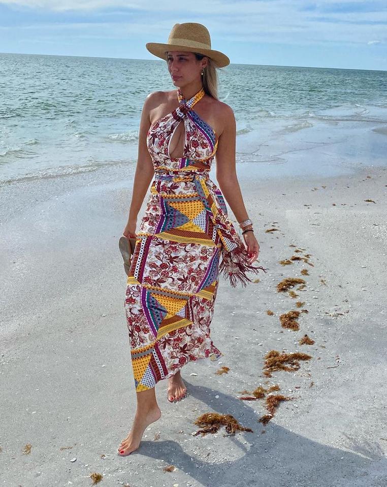 Aleyda Ortiz, look, playa, miami