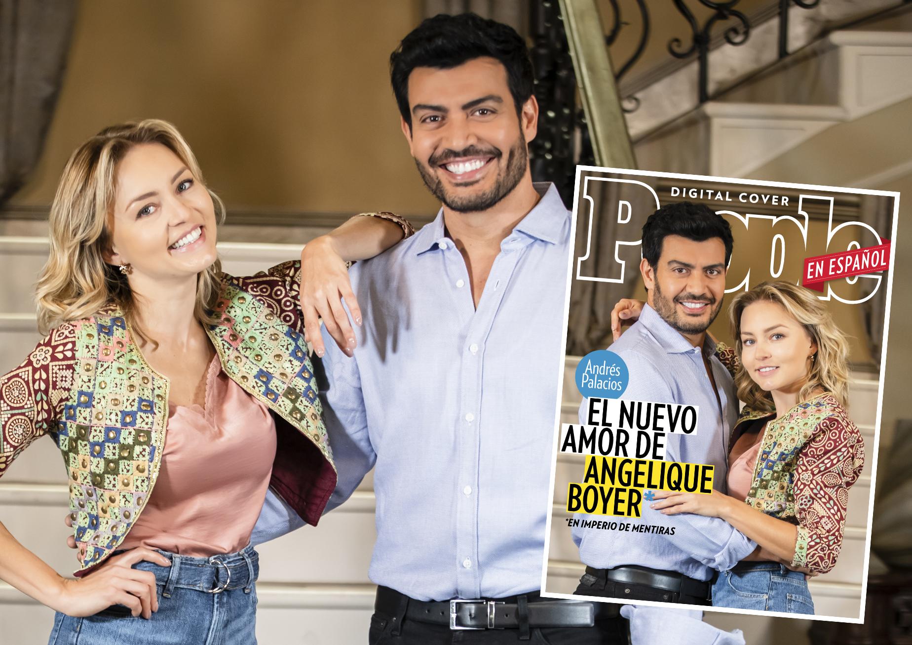 Angelique Boyer y Andres Palacios (DO NOT REUSE)