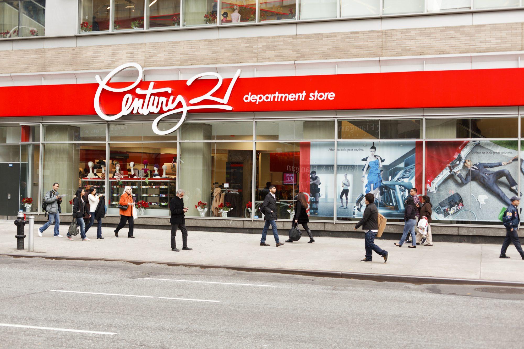 ¡Oh no! La cadena de tiendas Century 21 cerrará todos sus establecimientos