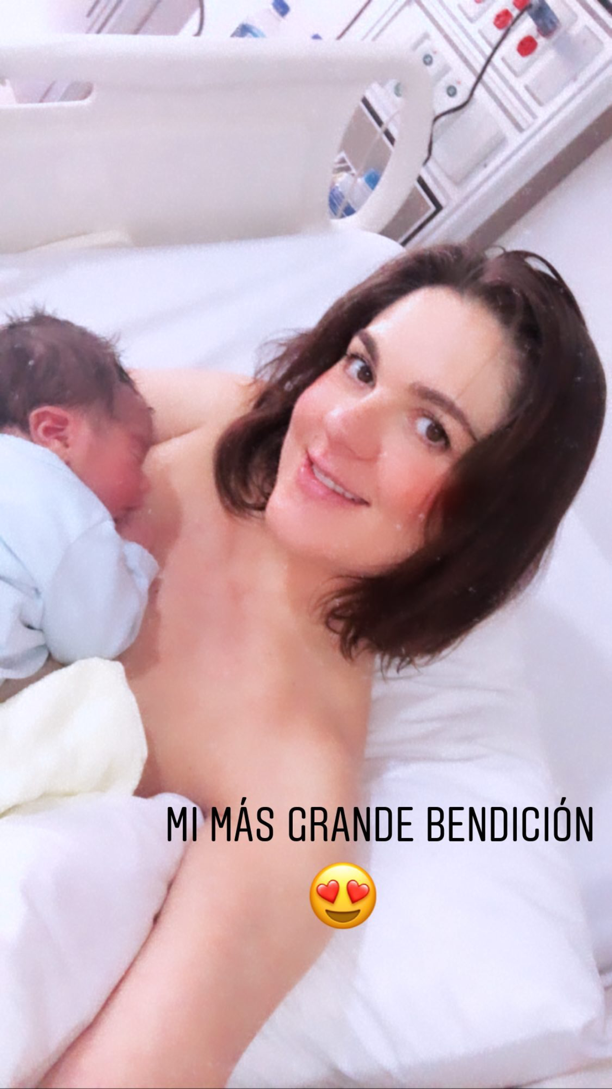 Zoraida Gómez bebé