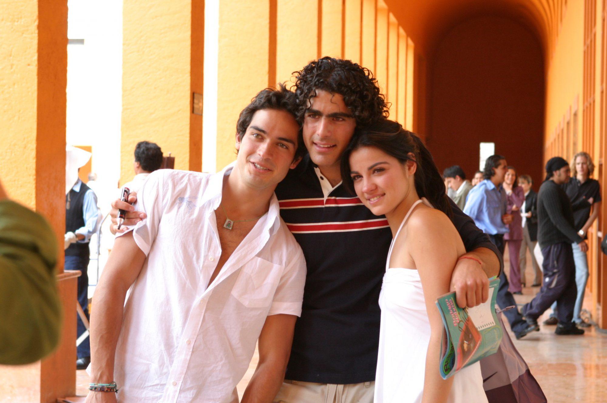 Alfonso Herrera, Rodrigo Nehme y Maite Perroni
