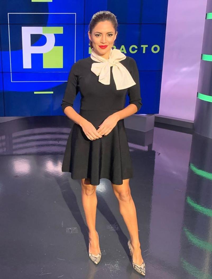 Pamela silva, look, poderosa, elegante, clasica