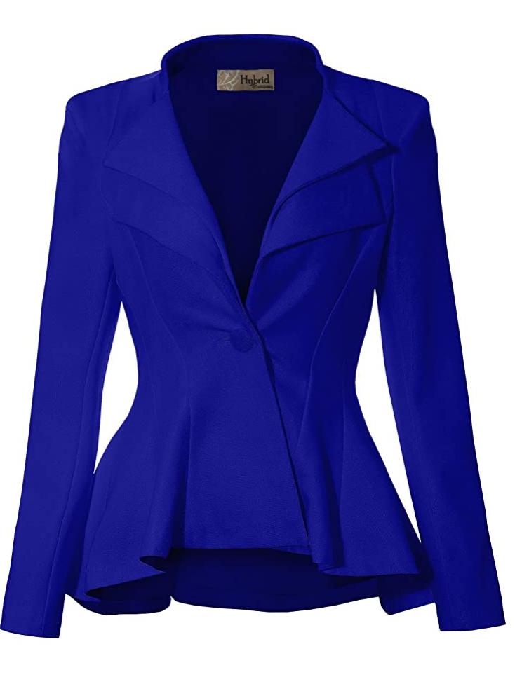 Esta femenina blusa tiene el color perfecto para resaltar una falda a al rodilla o un clásico pantalón negro. Peplum Bodycom Short Sleeve Top, de