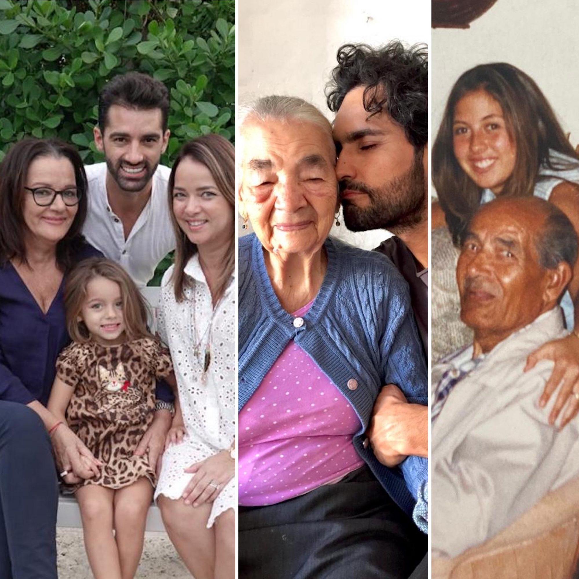 Abuelos famosos