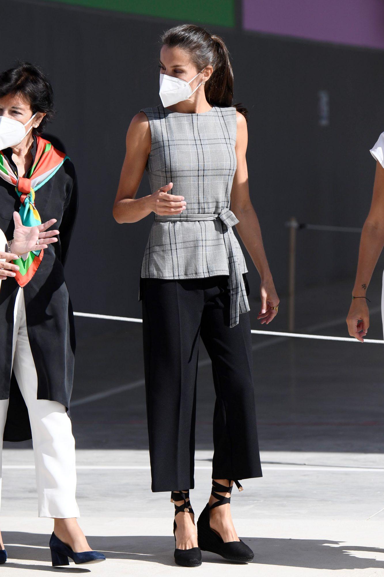 La reina Letizia, look, espana
