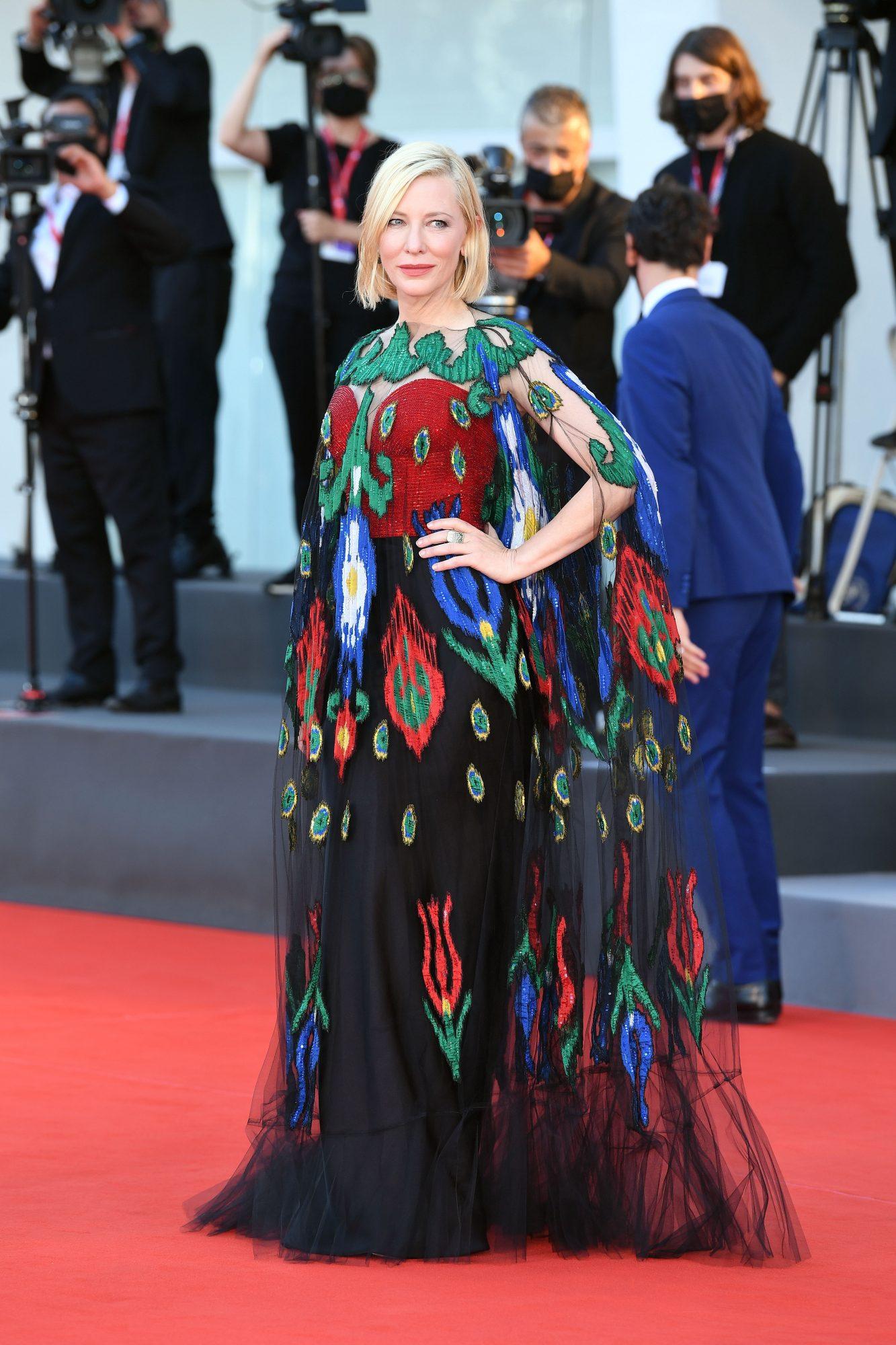 Cate Blanchett, look, festival de venecia, alfombra roja