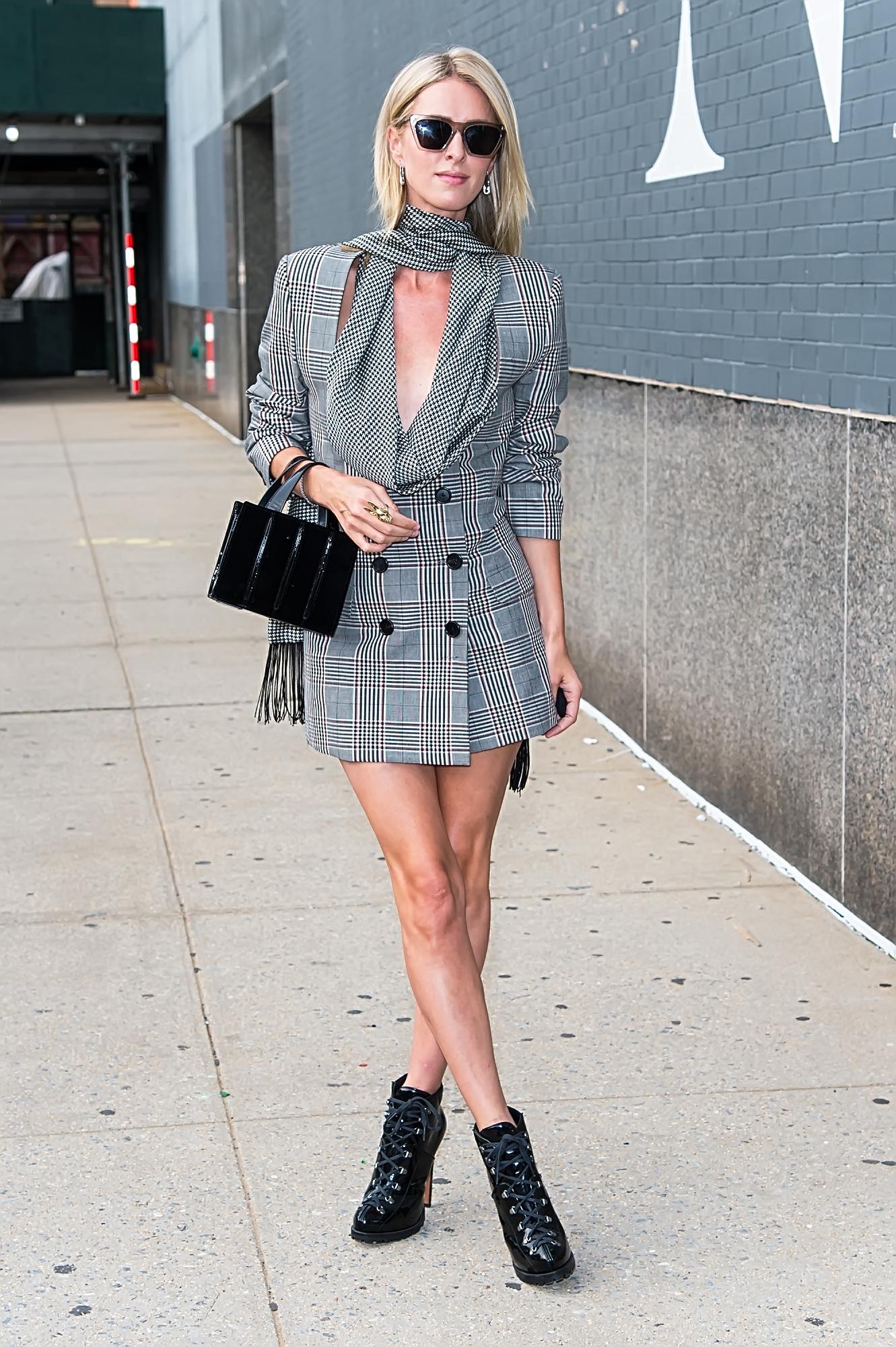 Nicky Hilton, semana de la moda de nueva york, new york fashion week