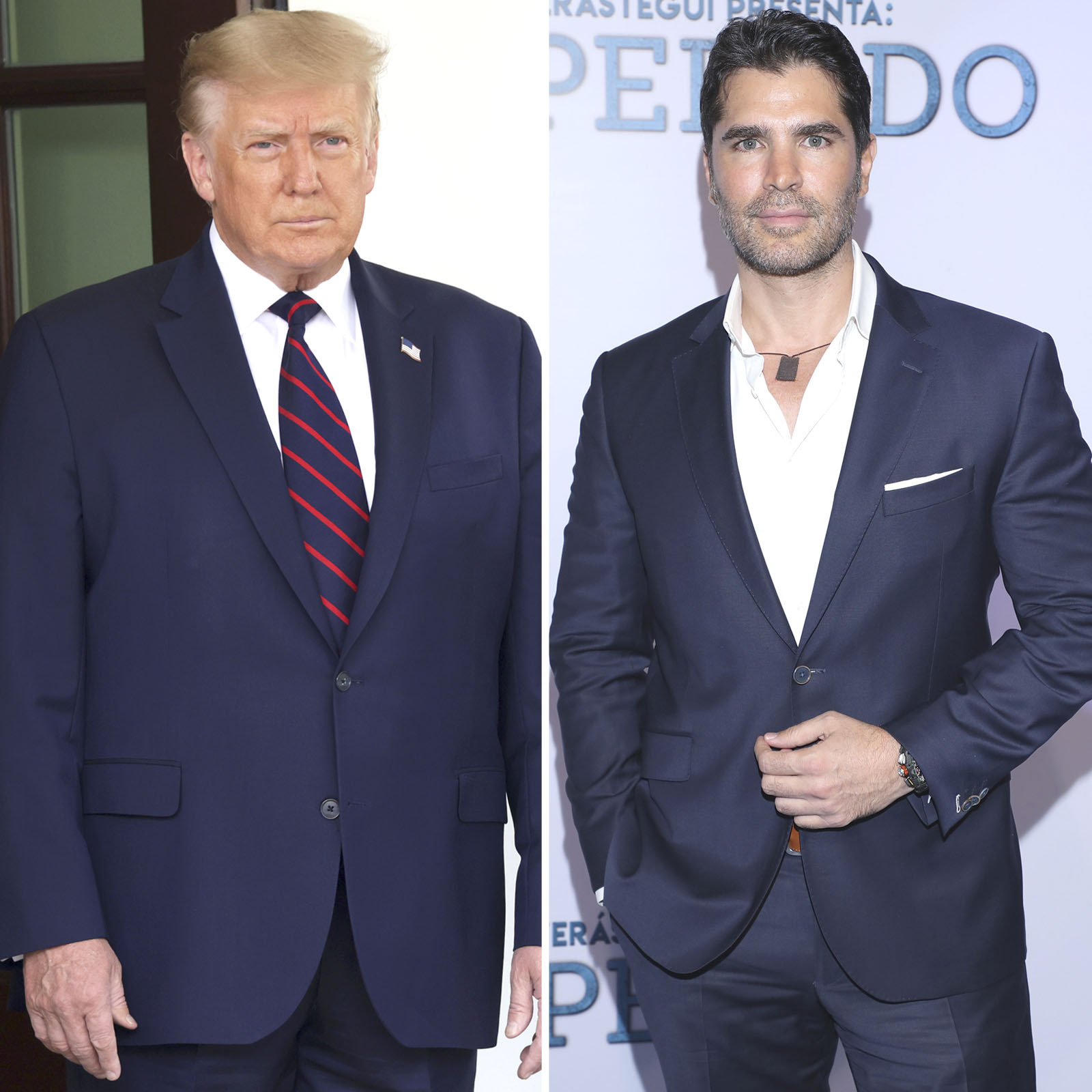 Donald Trump y Eduardo Verastegui