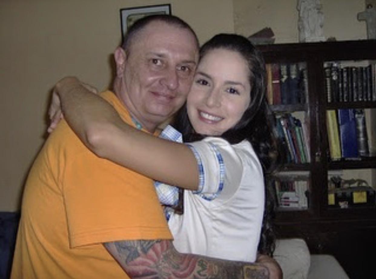 Carmen Villalobos y Rafael Uribe
