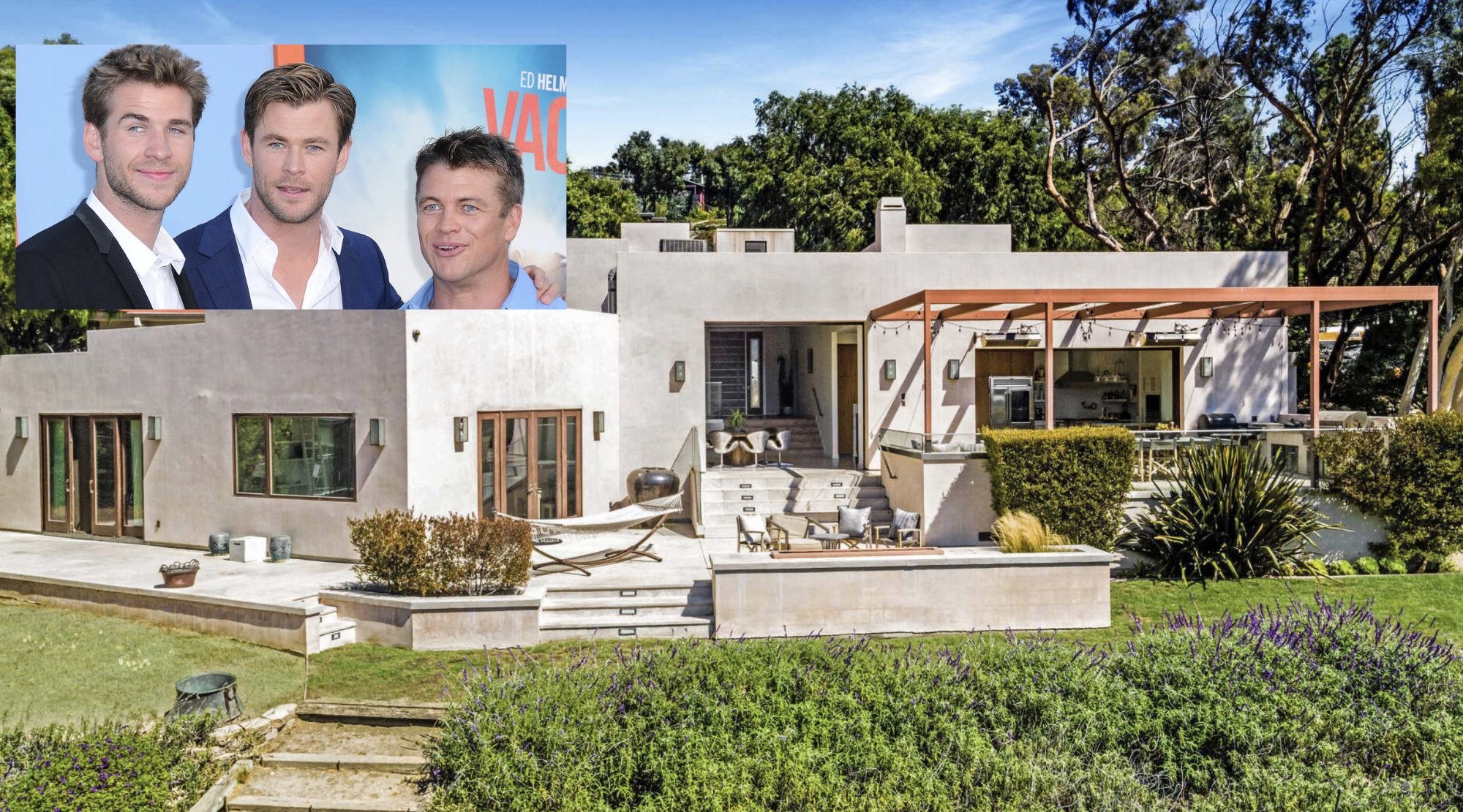 Chris Hemsworth Malibu house