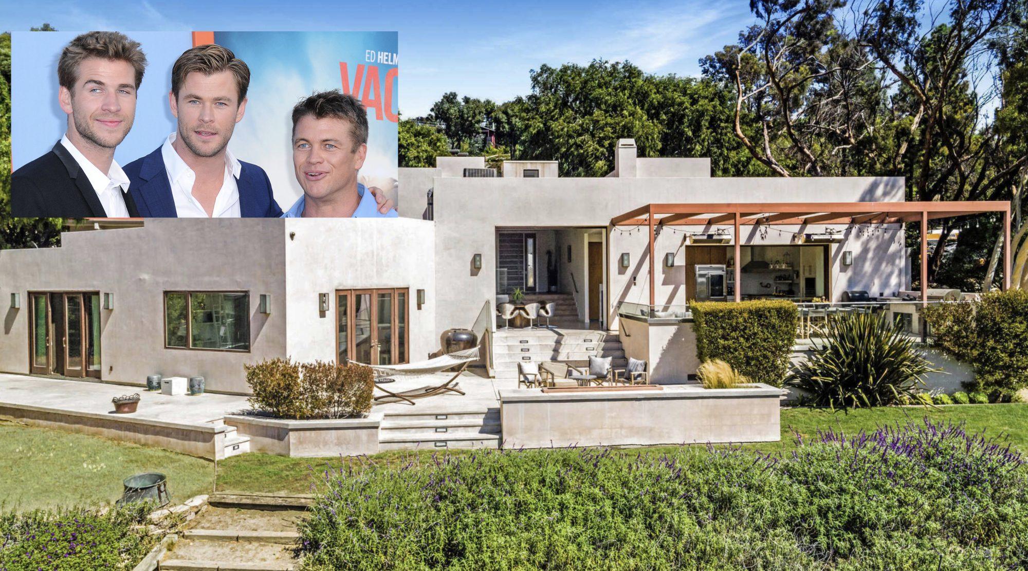 Chris Hemsworth Malibu house