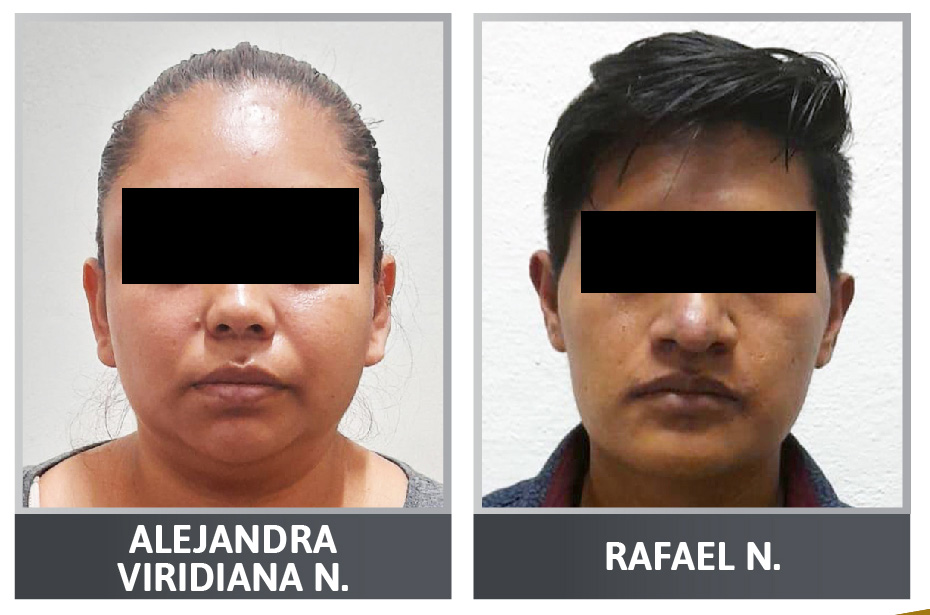 Alejandra Viridiana y Rafael N