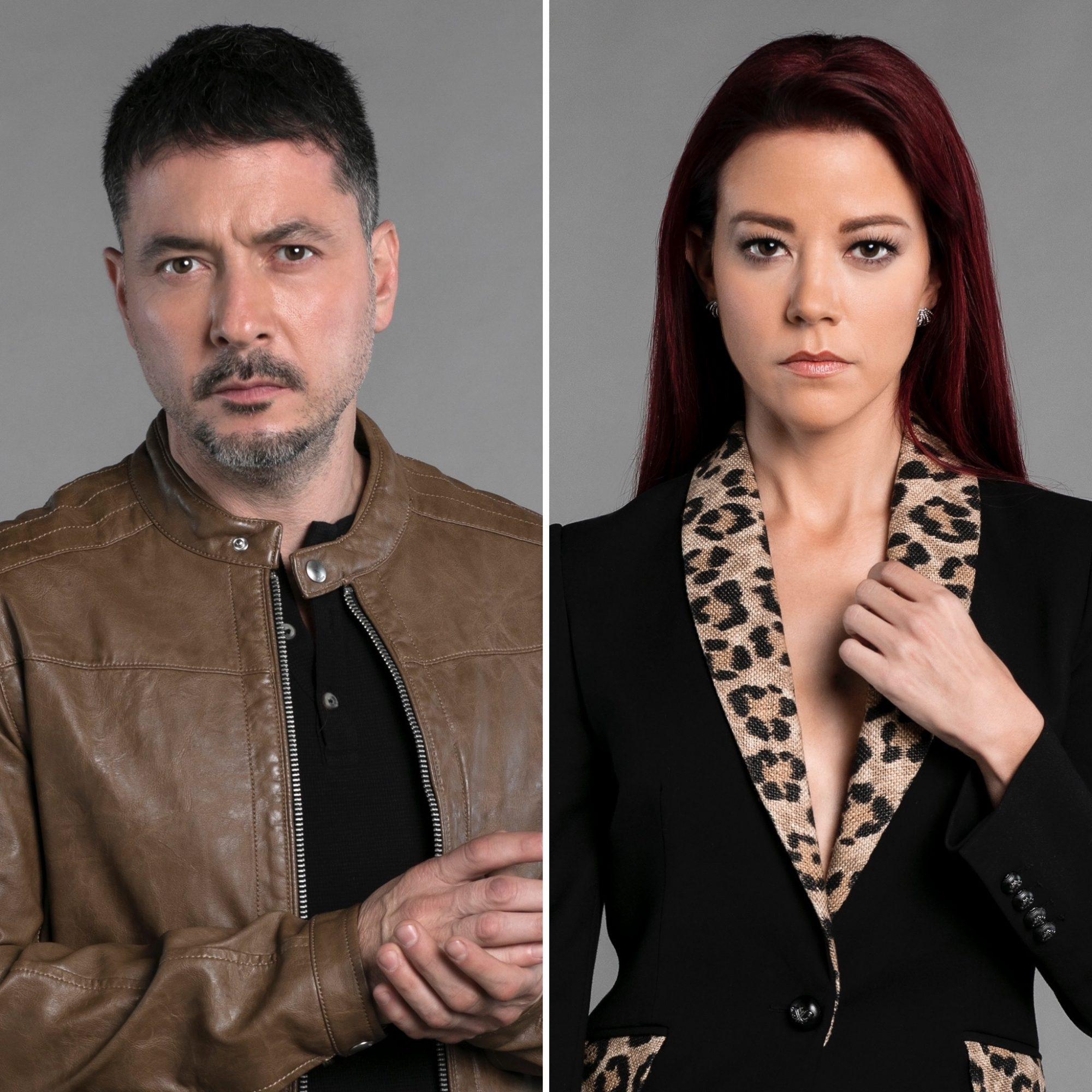 Raúl Méndez y Fernanda Castillo