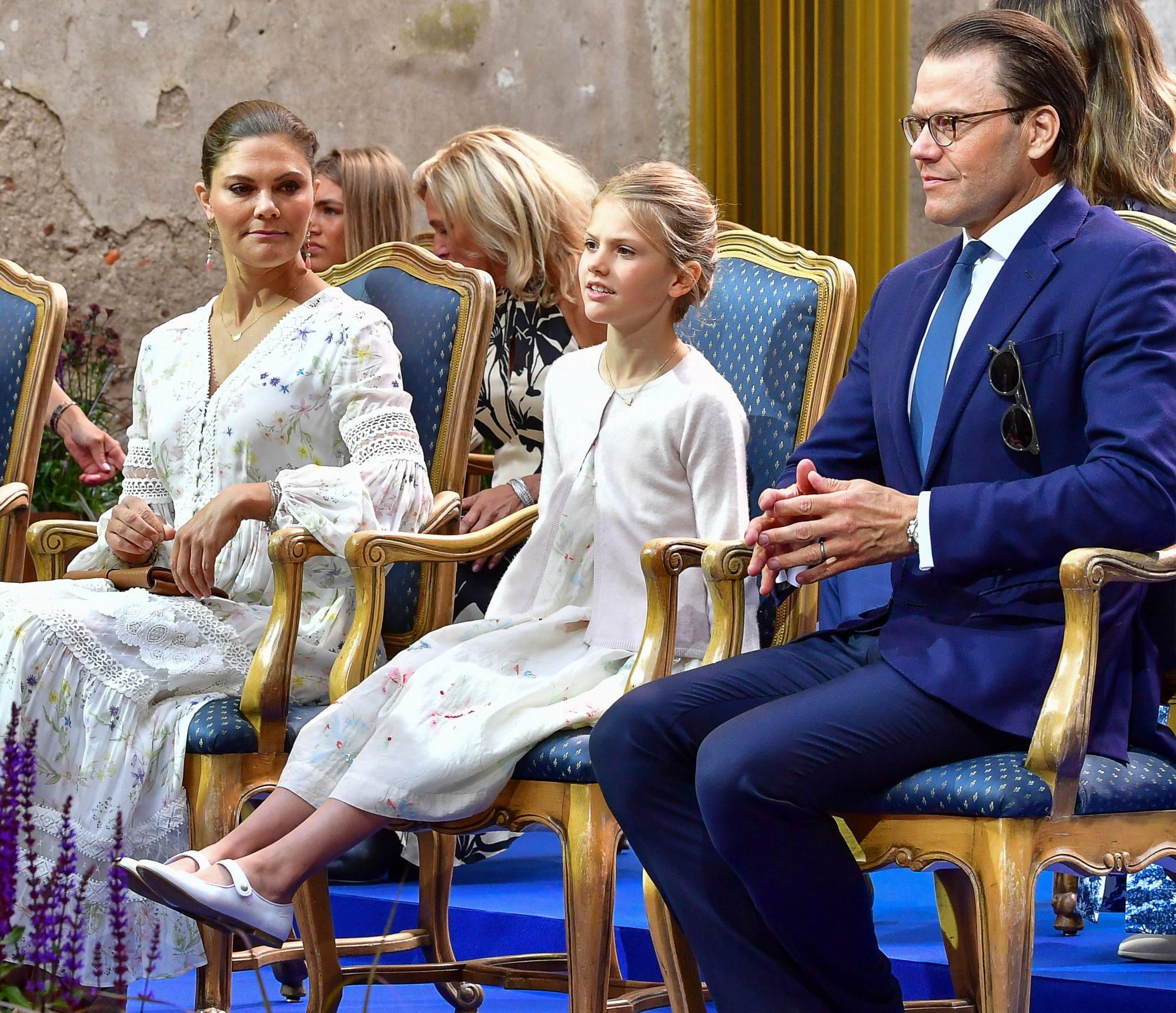 La princesa Estela de Suecia