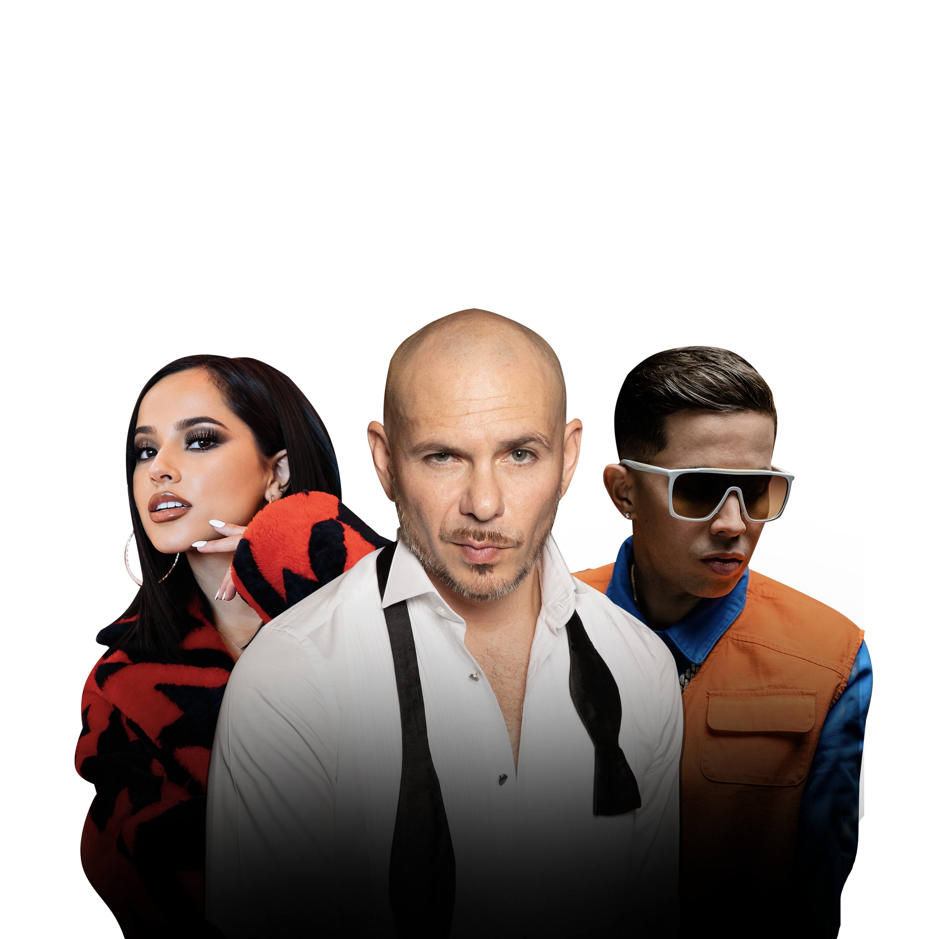 Becky G, Pitbull y De la Ghetto