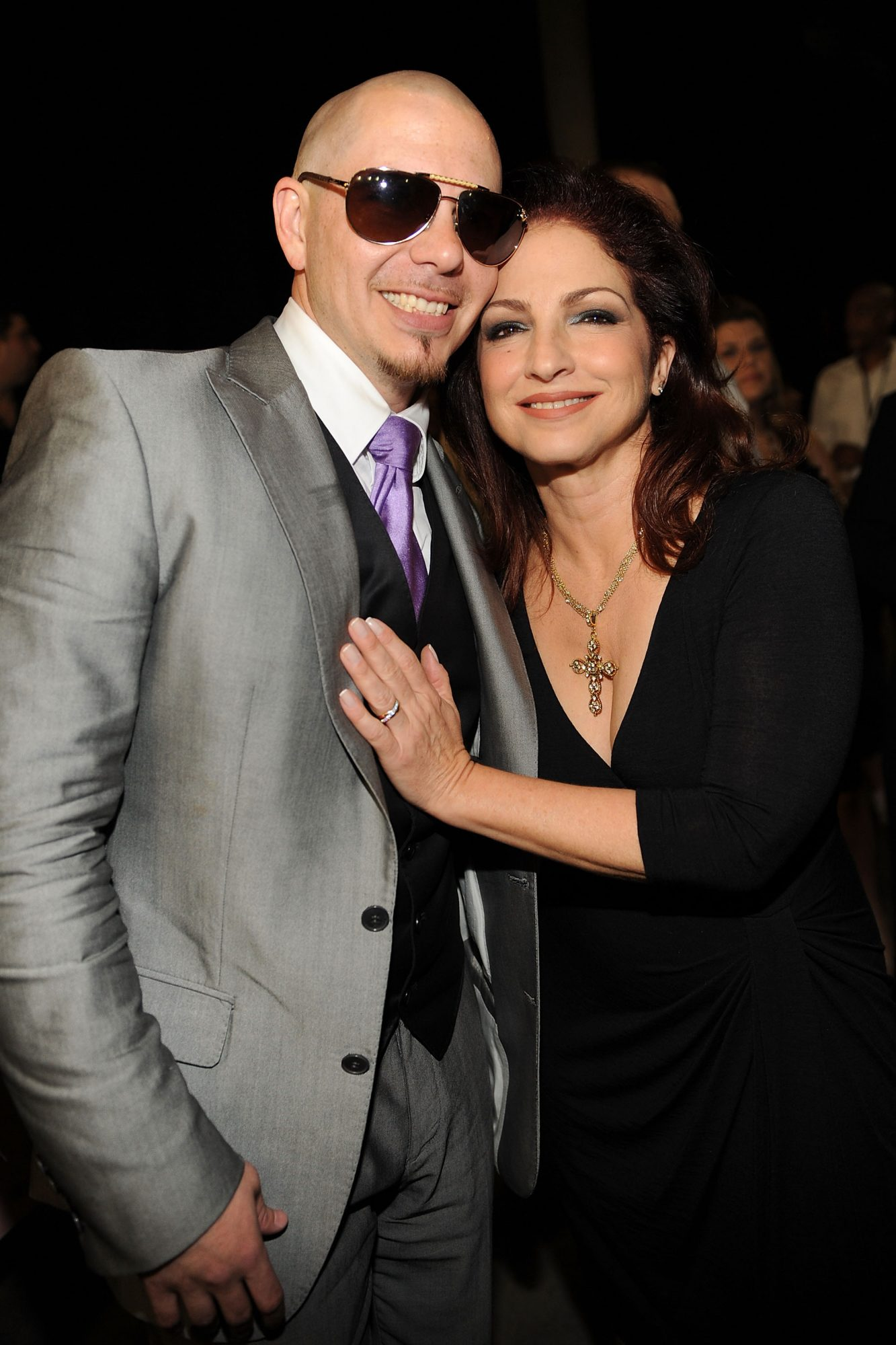 Pitbull and Gloria Estefan