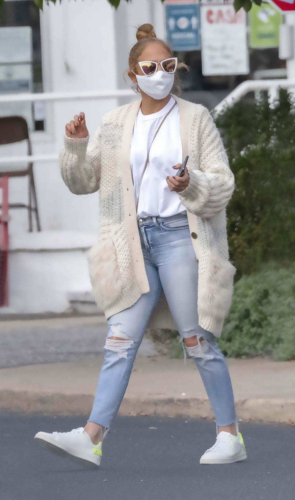Jennifer Lopez, JLo, look, casual, streetstyle