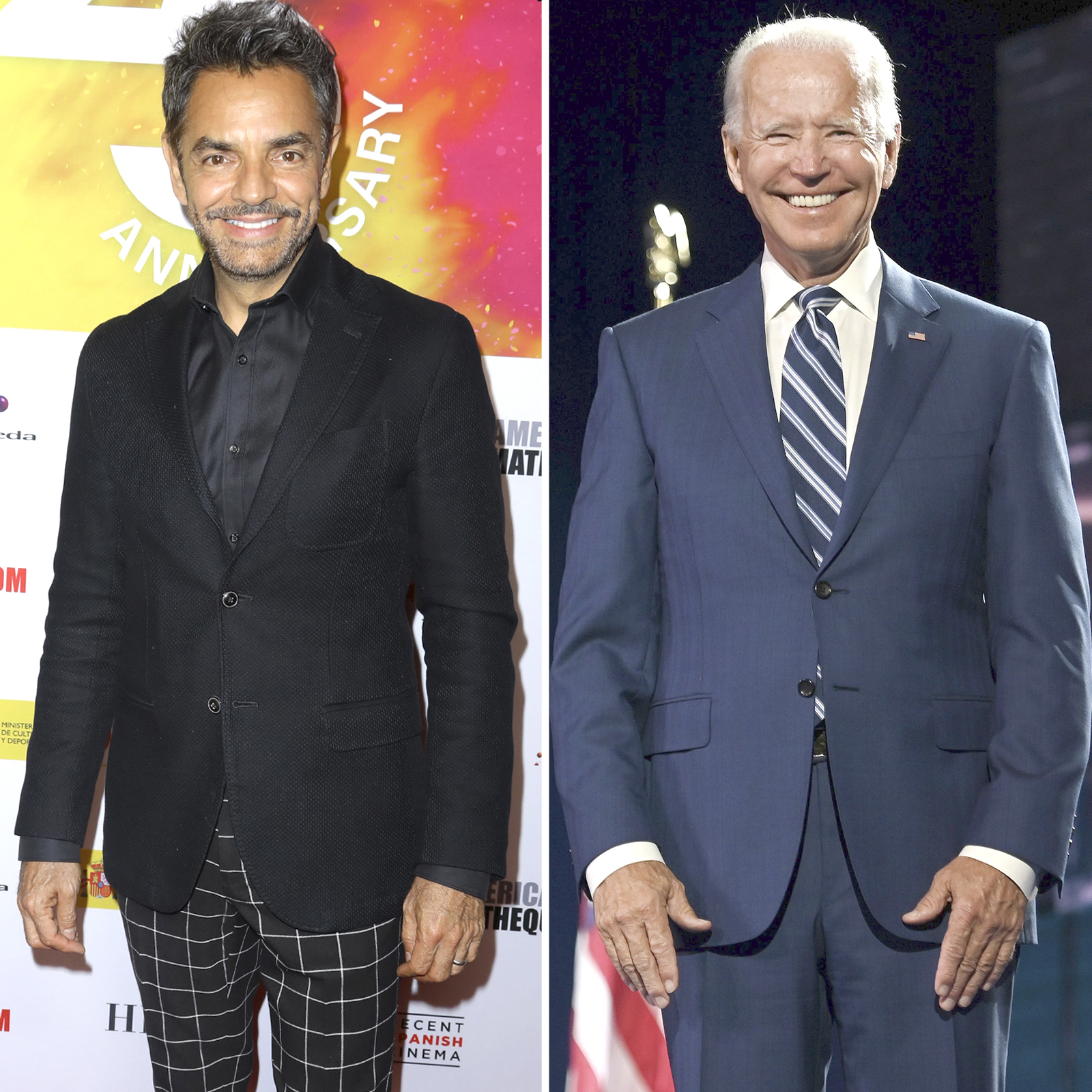 Eugenio Derbez y Joe Biden