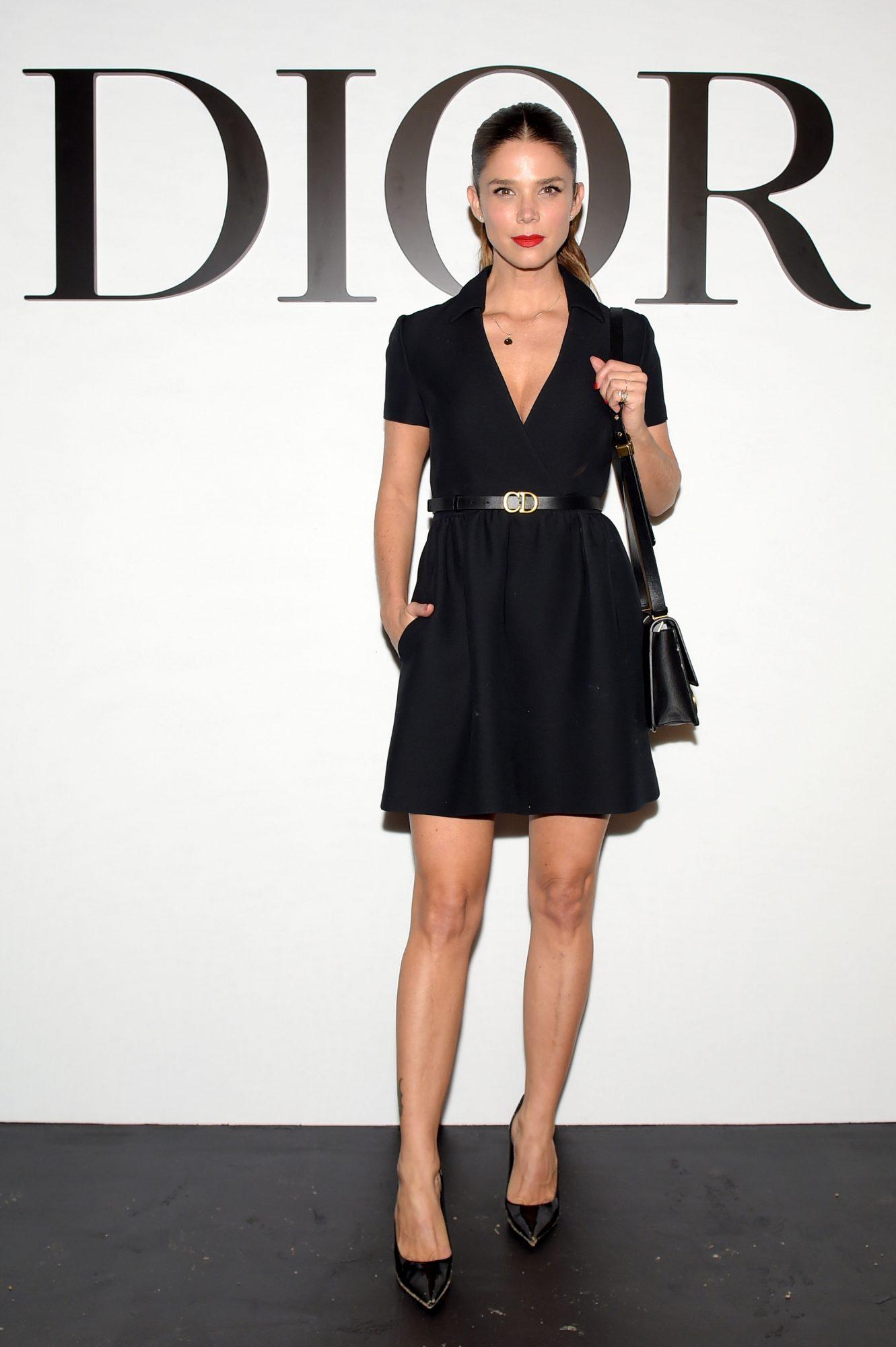 Juana Acosta, look, Paris, Paris Fashion Week, Dior fashion show
