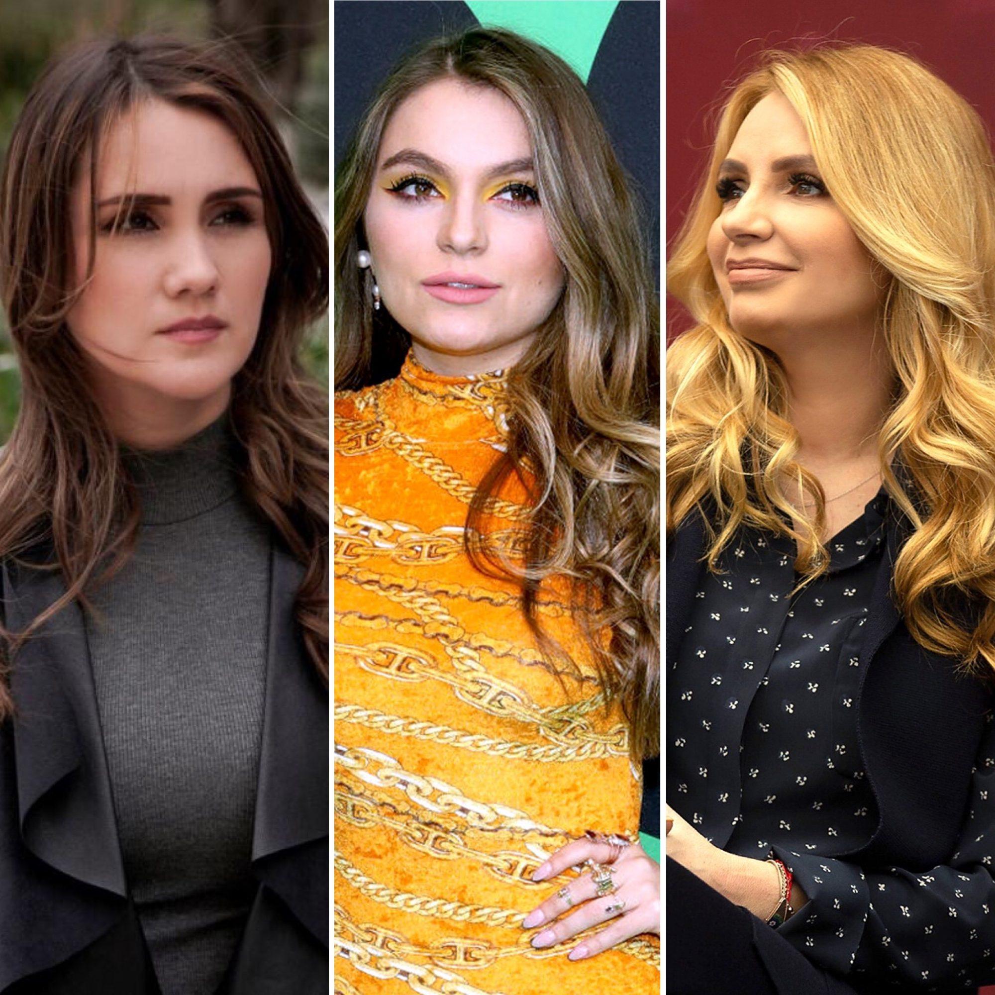 Dulce María, Sofía Castro y Angélica Rivera