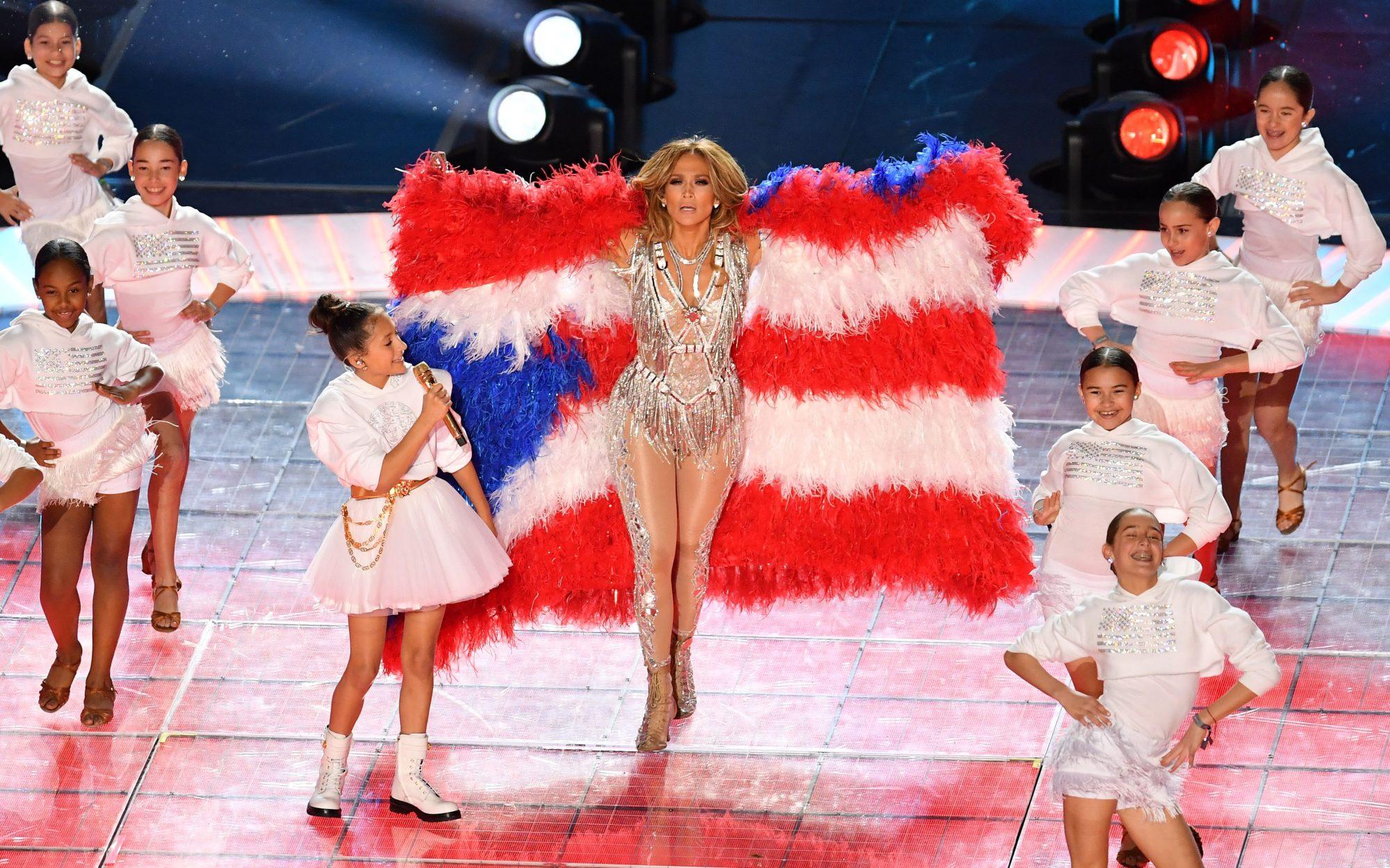 Jennifer Lopez y su hija Emme Muniz